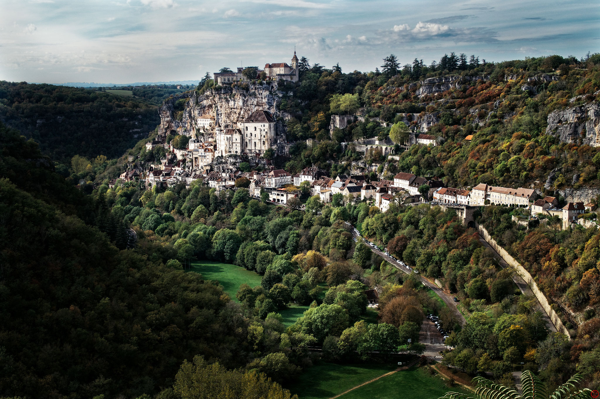 Rocamadour, Lot, octobre 2019