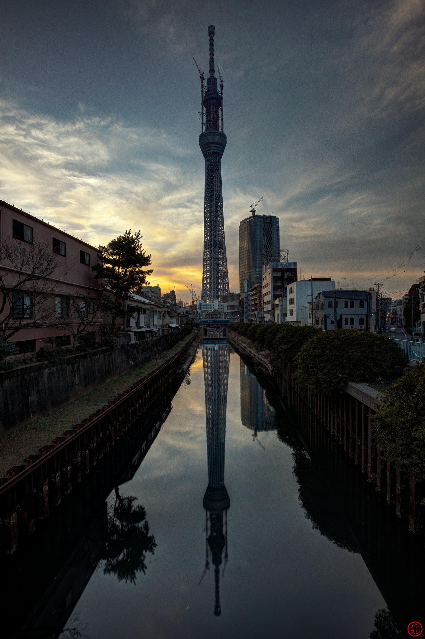 Tokyo Sky Tree, Japon, Mars 2011