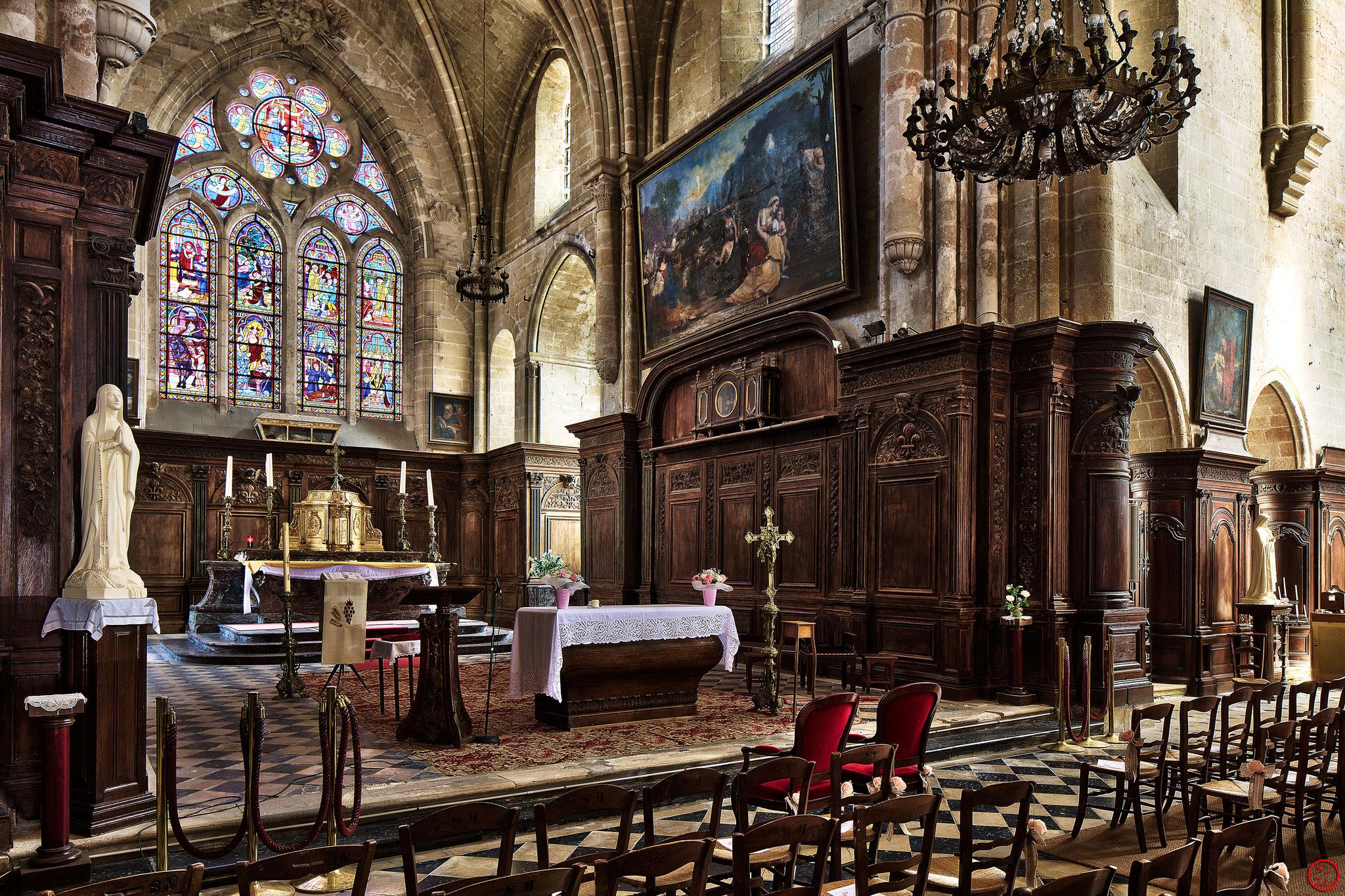 Eglise Saint-Martin, Laon, août 2018
