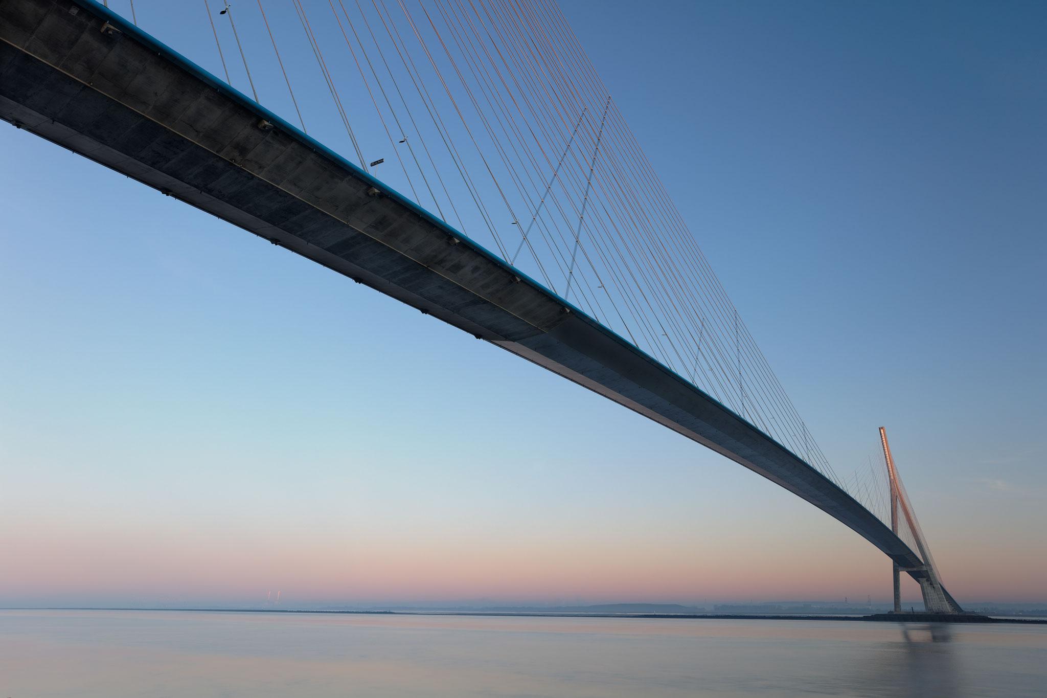Pont de Normandie, décembre 2019.