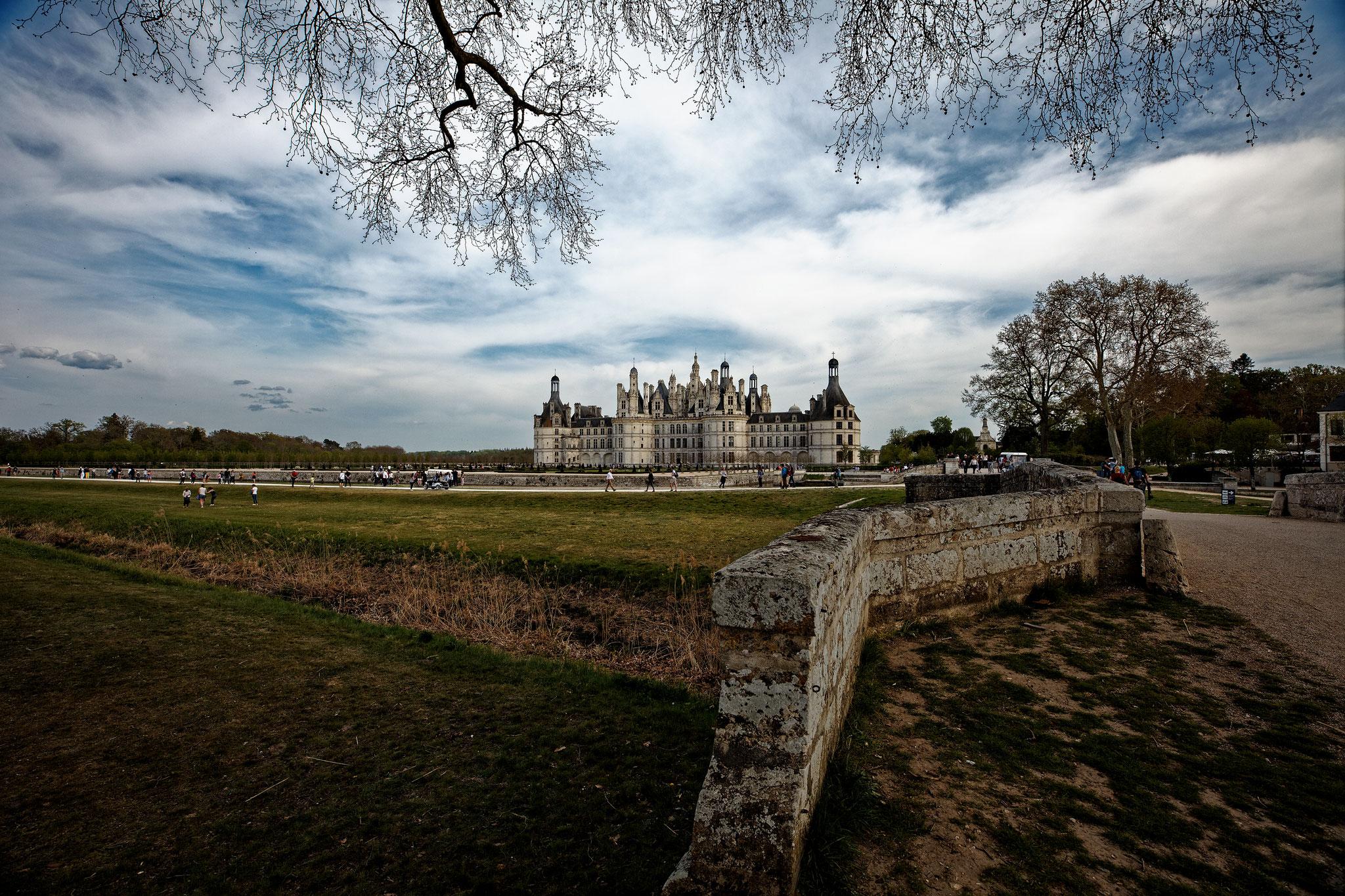 Château de Chambord, avril 2019