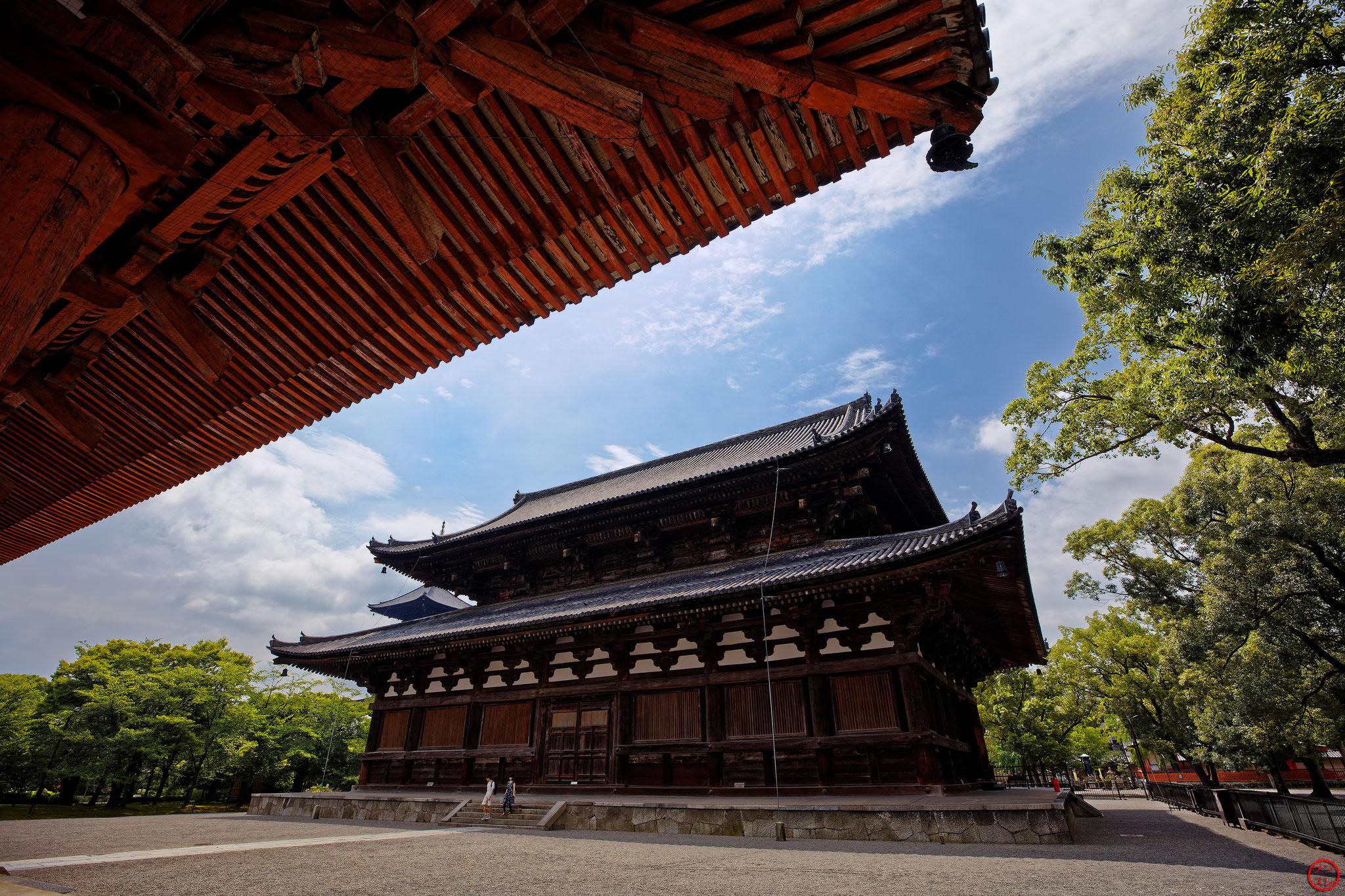 To-ji, Kyoto, août 2017