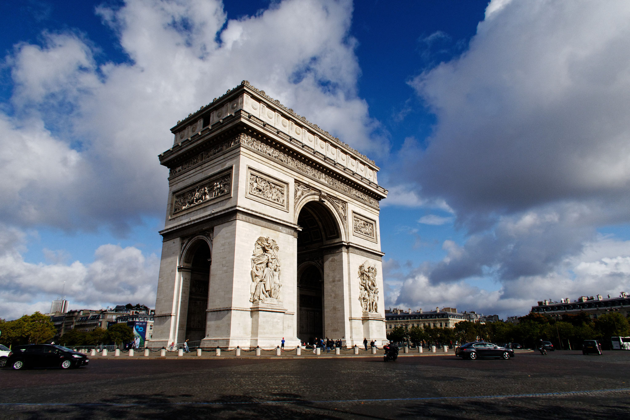 Arc de Triomphe, Paris, 9 septembre 2017