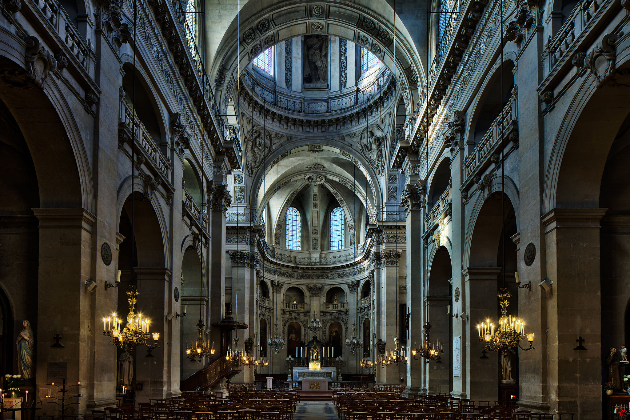 Eglise Saint-Paul Saint-Louis, Paris, France