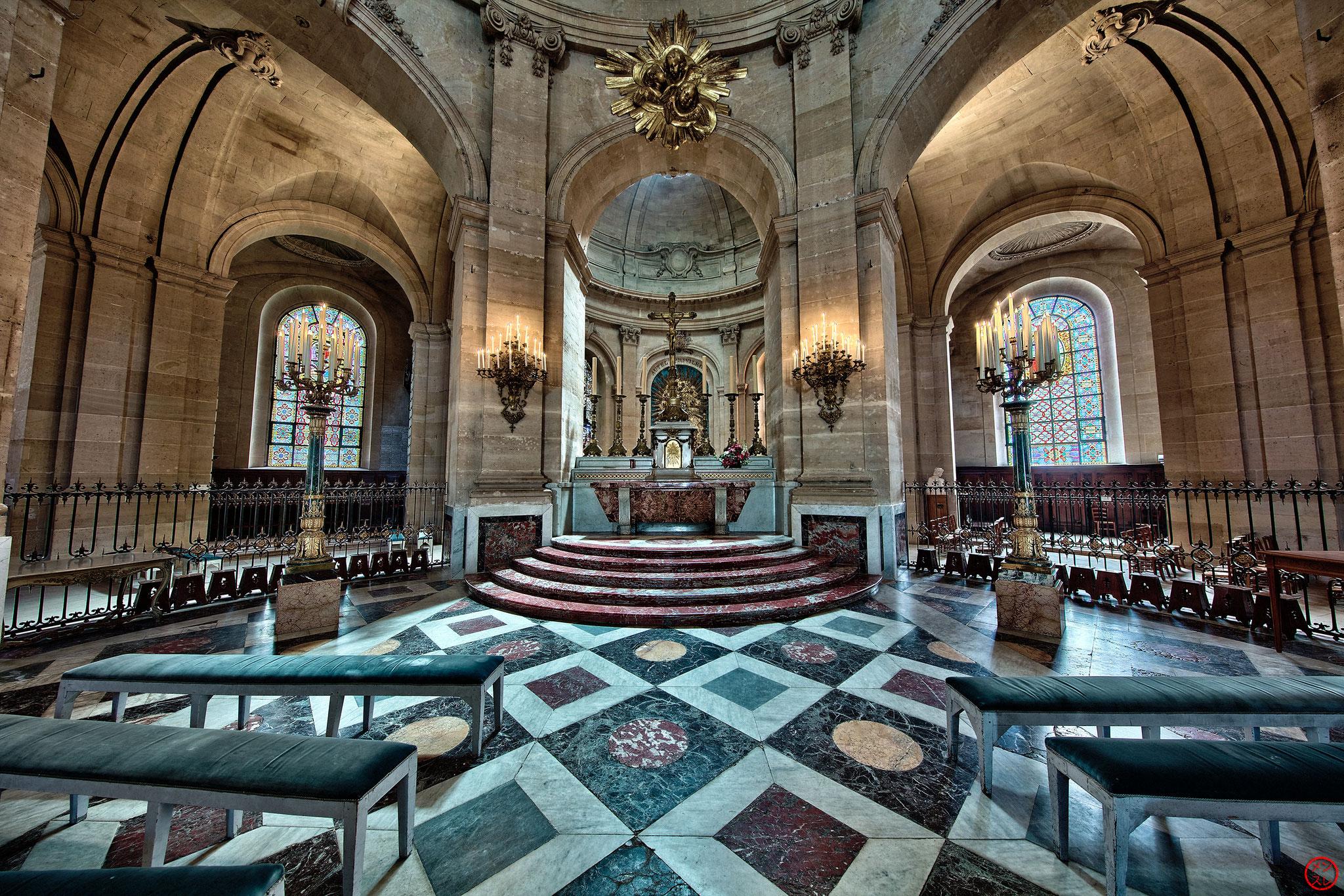 Cathédrale Saint-Louis, Versailles, 2017