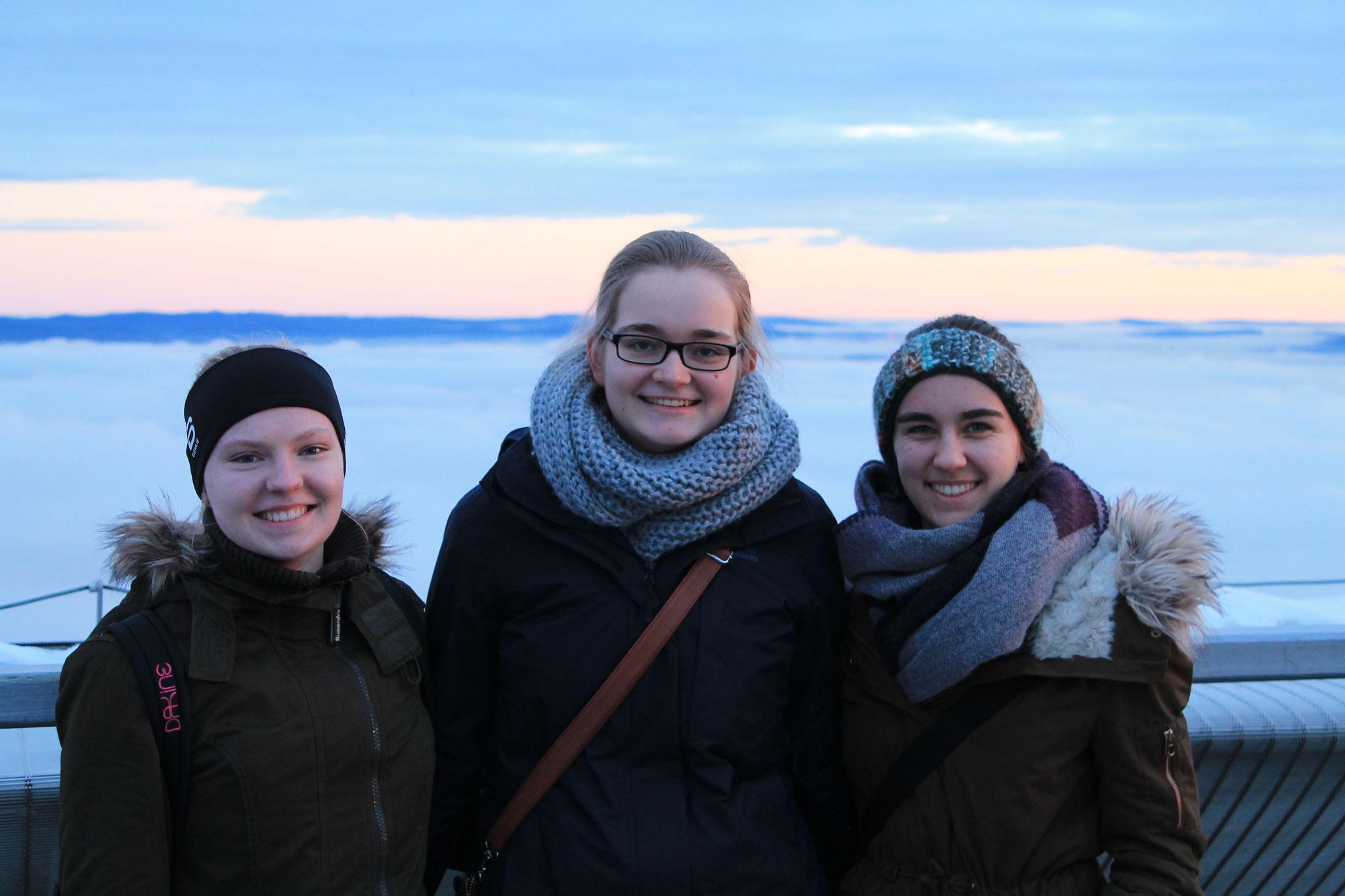 Tabea, Maria und Lioba in Oslo