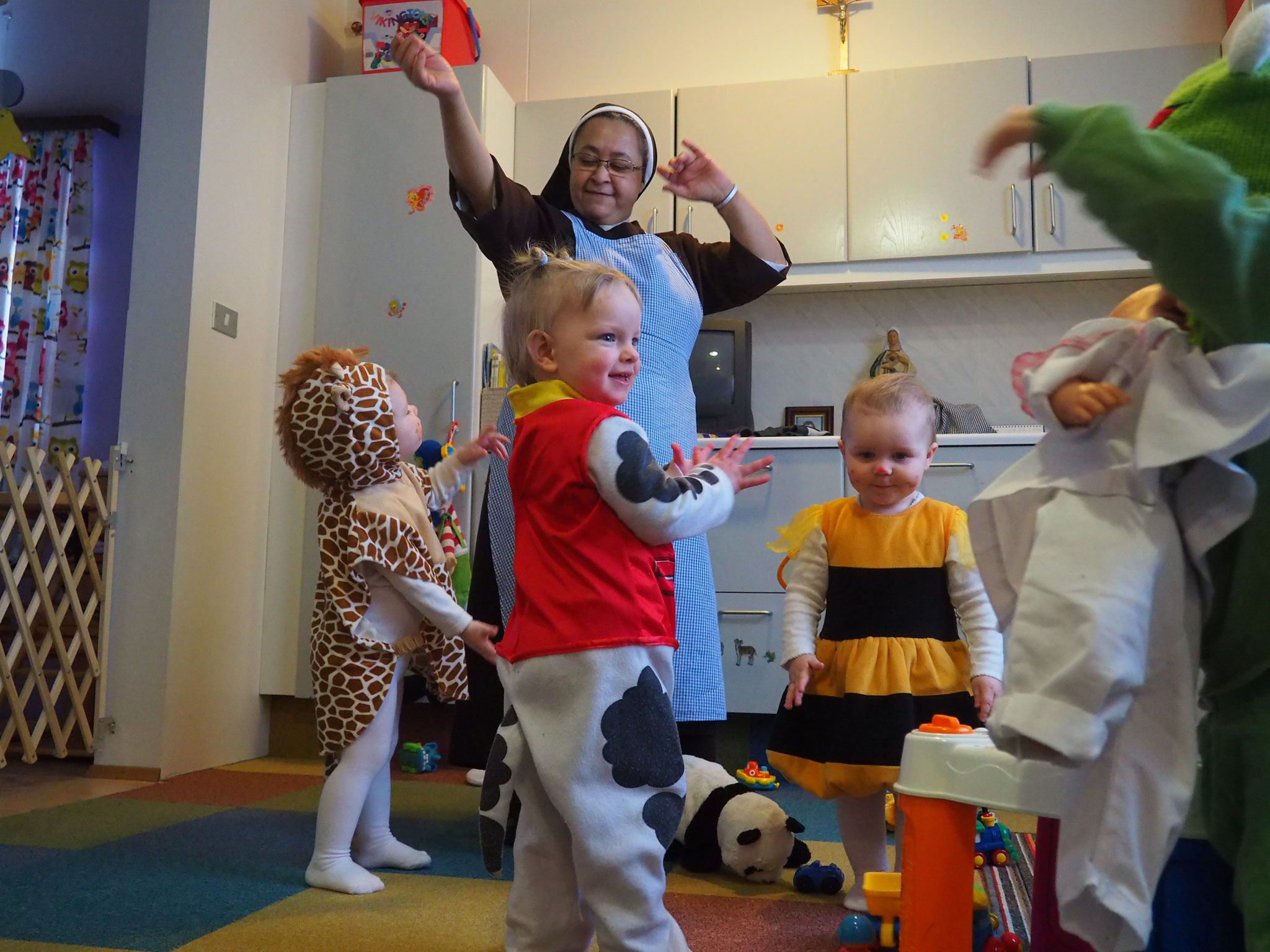 Karneval in der Kinderkrippe