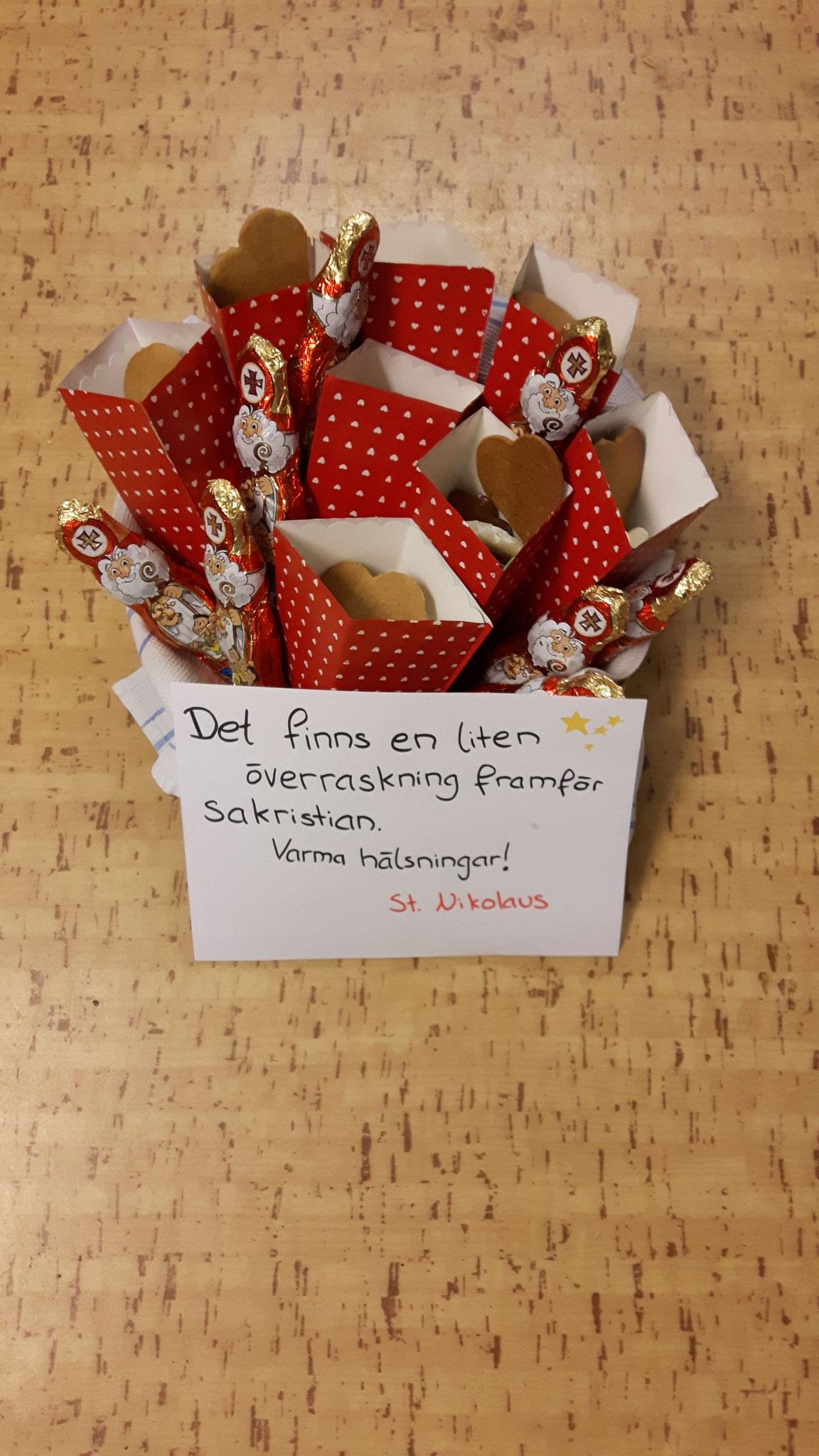 Pfefferkuchen für die Birgittaschwestern zu Nikolaus