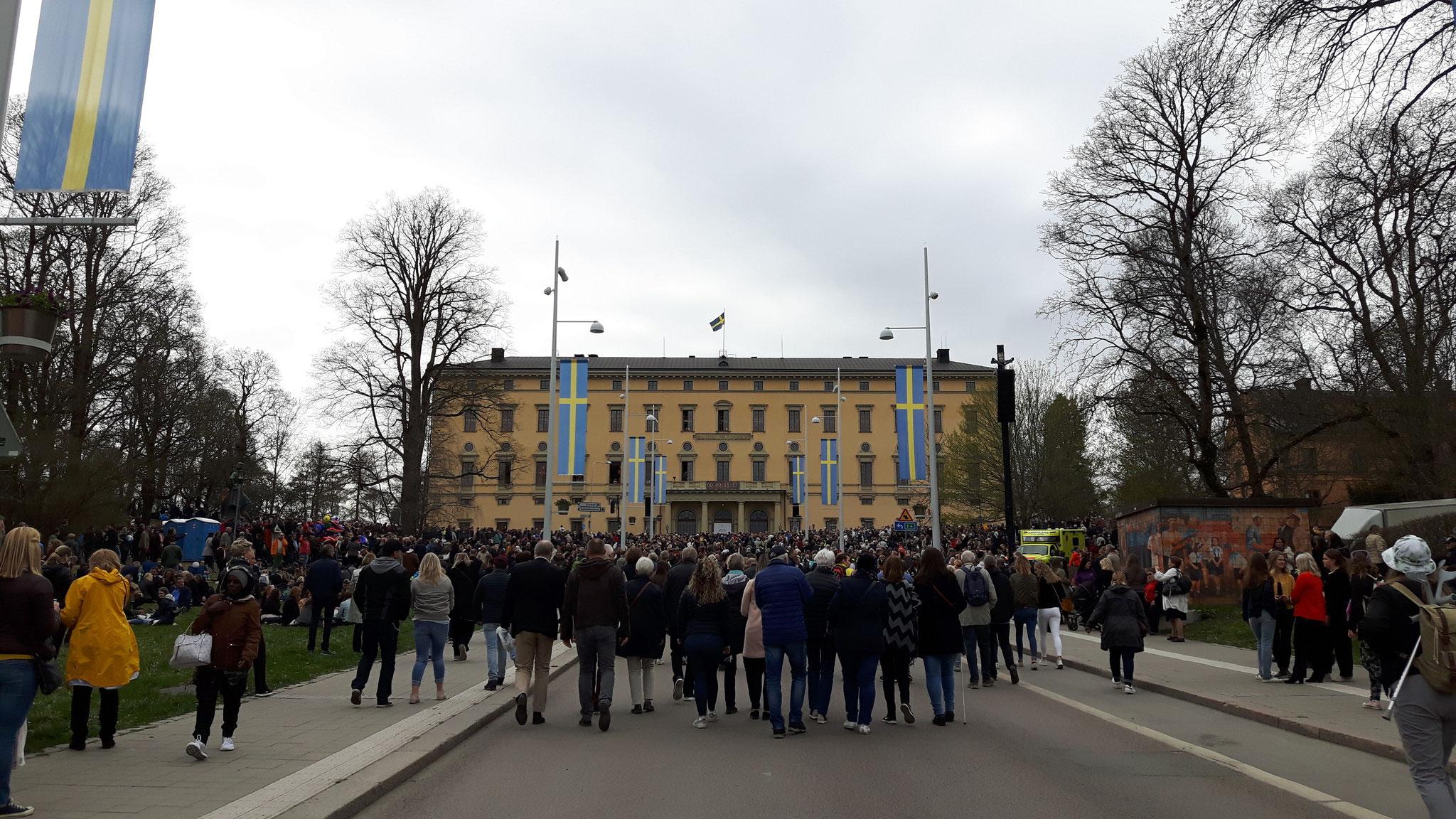 Valborg (Walpurgisnacht) in Uppsala