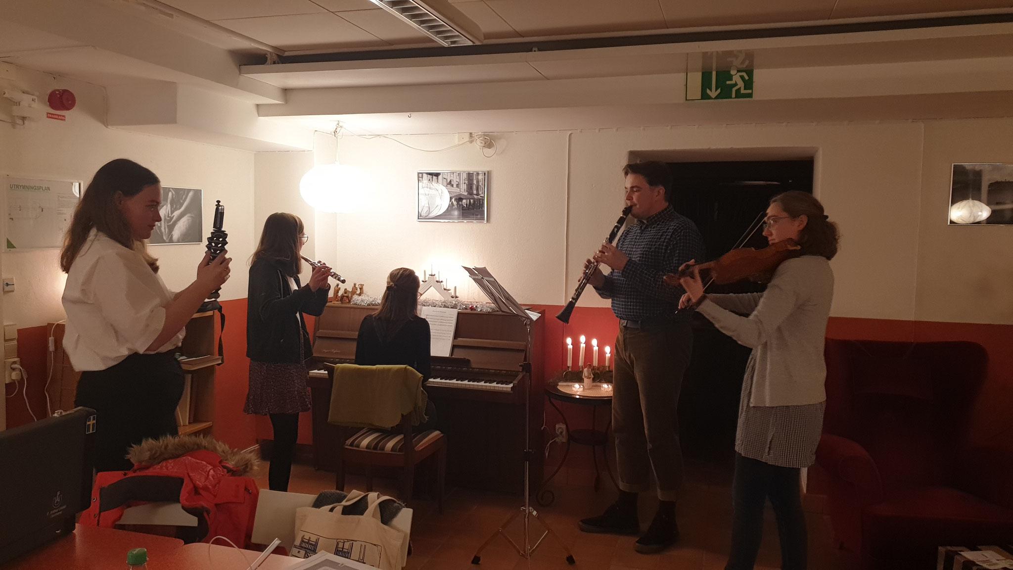 Ein kleines Konzert an Heiligabend