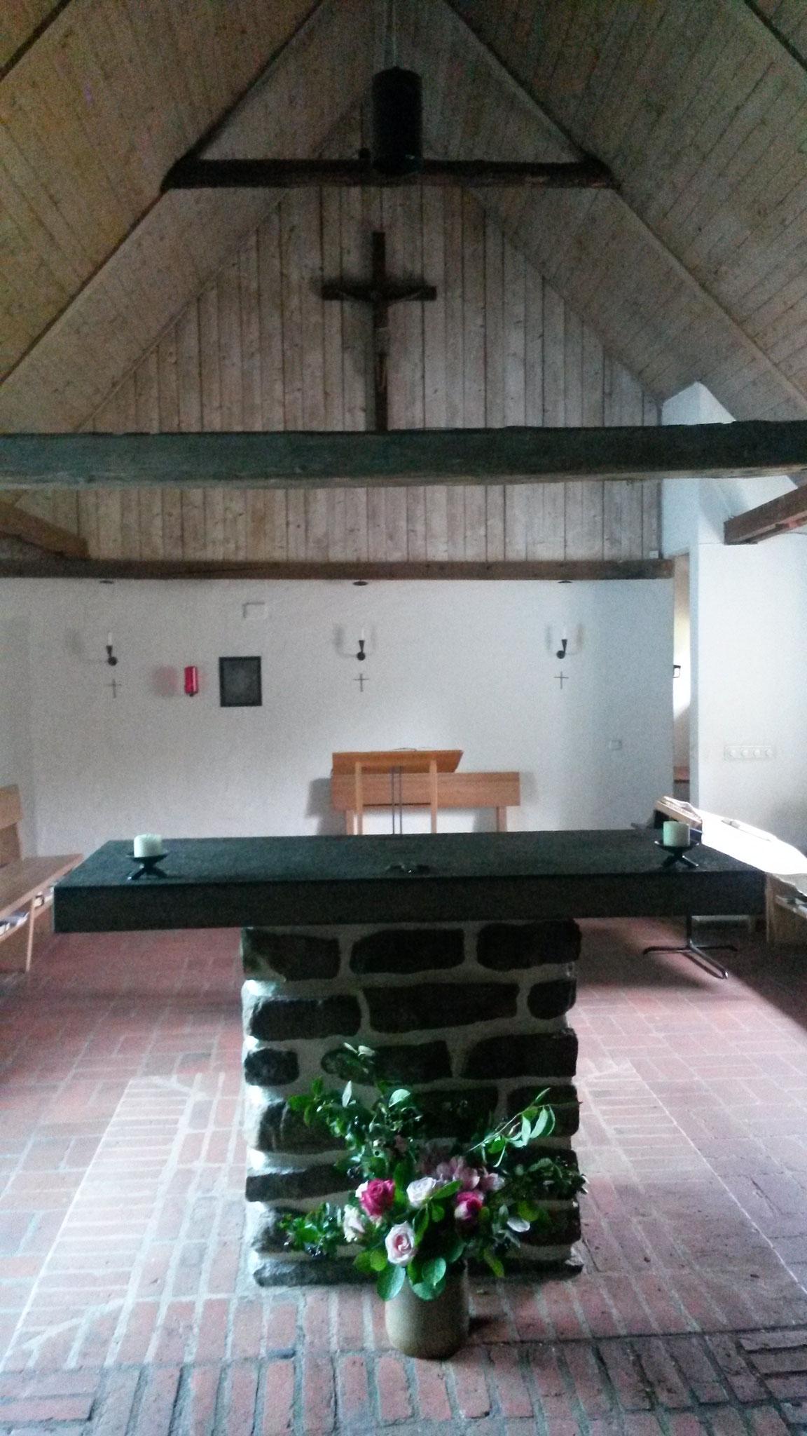 Die Kirche der Dominikanerinnen in Rögle bei Lund