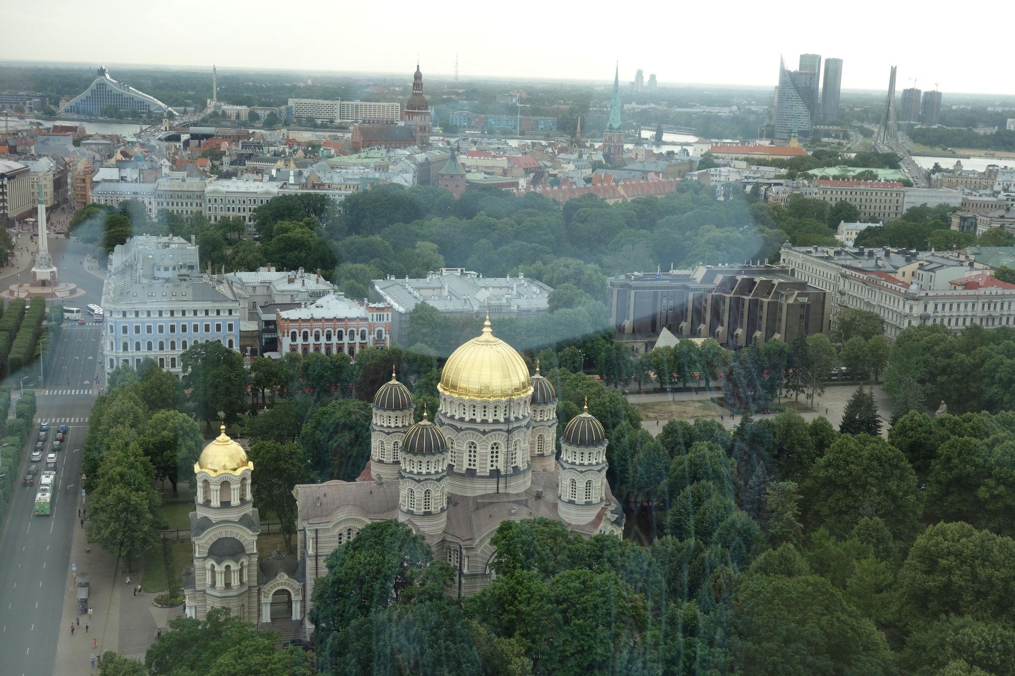 Ausblick auf Riga