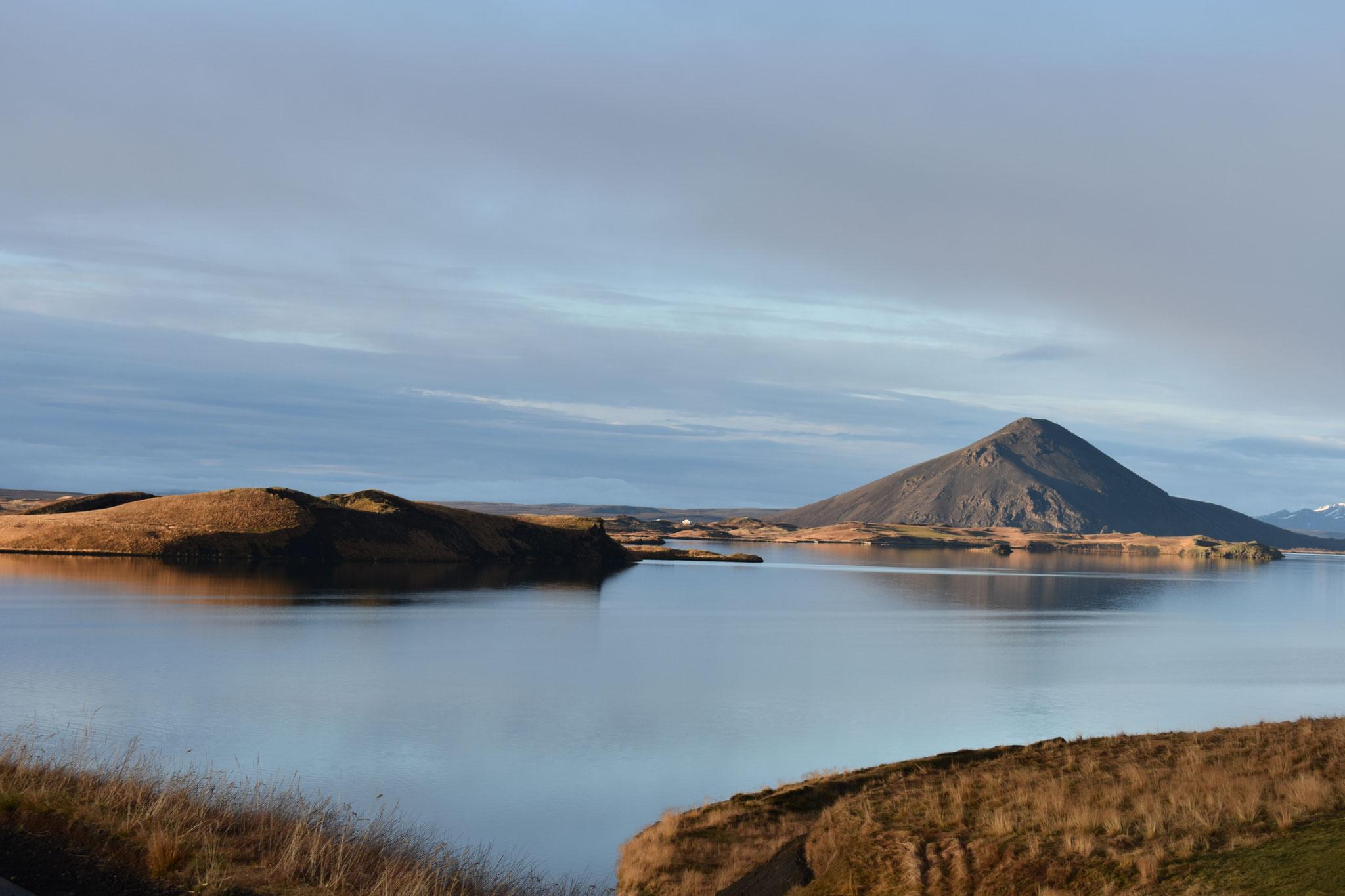 Der Mývatn ist der größte See Islands