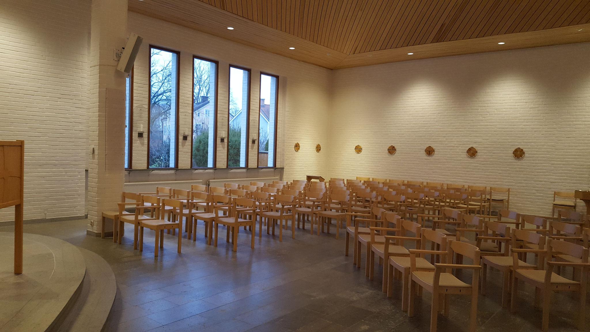 Die Kirche der Birgittaschwestern in Vadstena