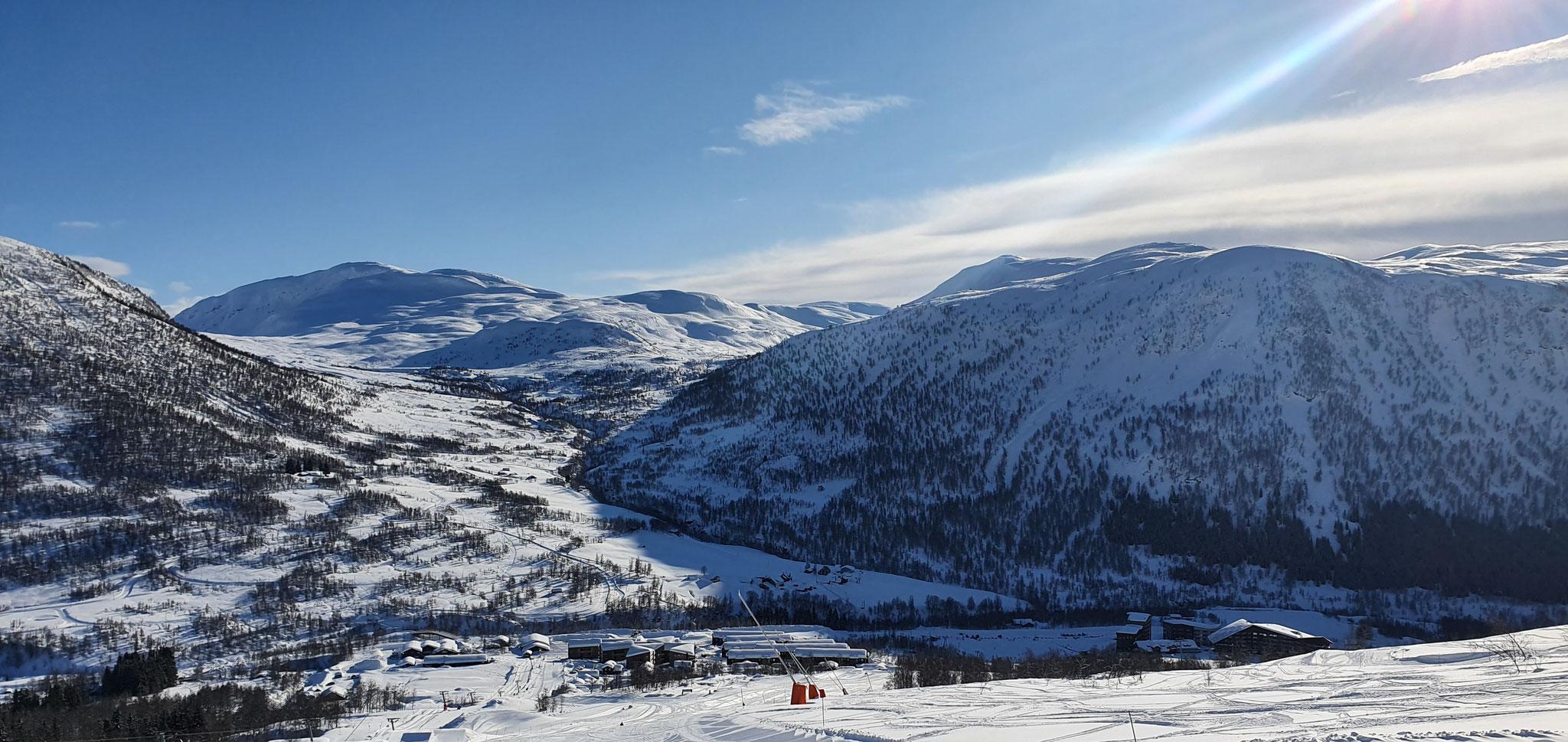 Skilandschaften Myrkdalen
