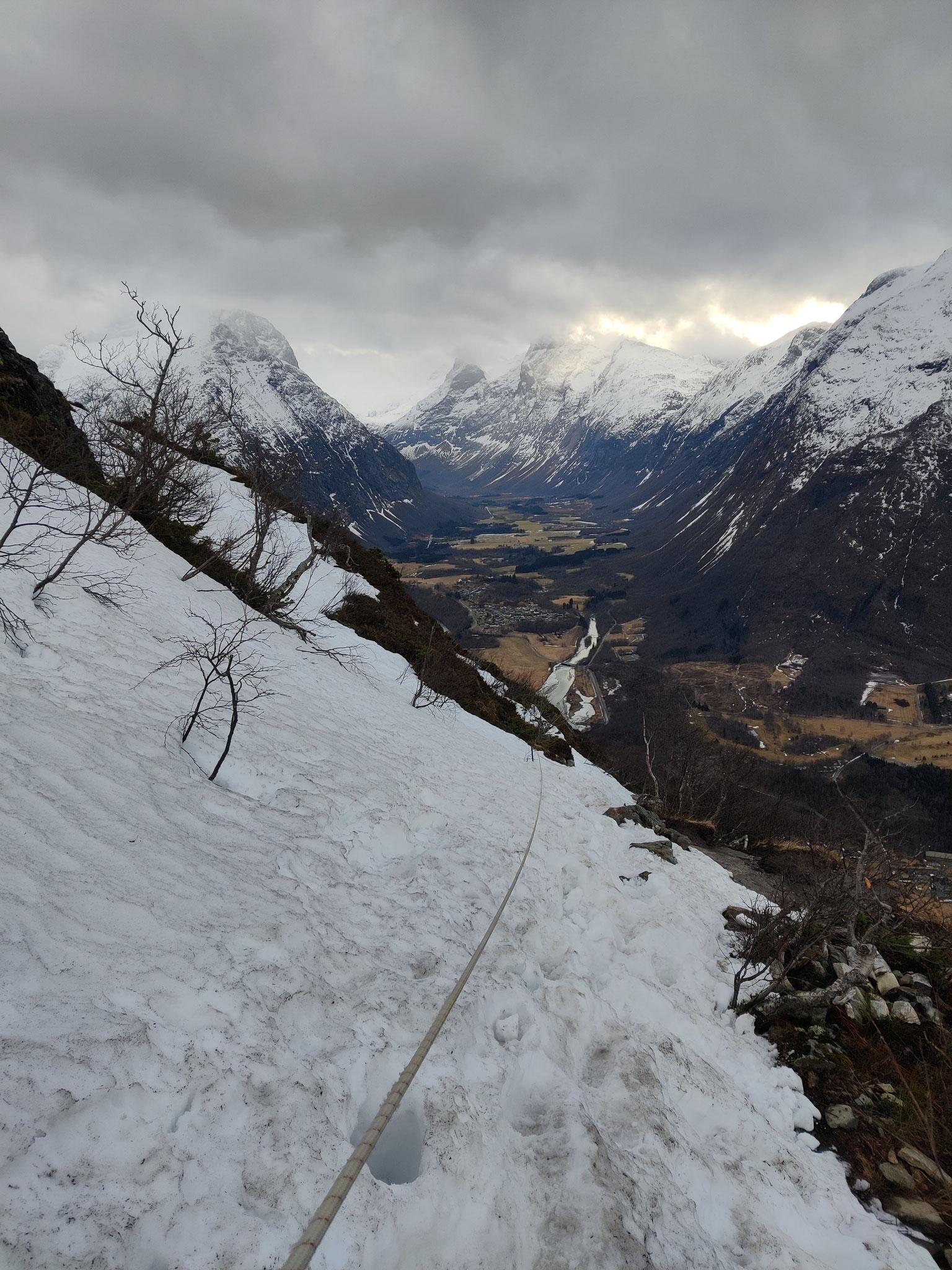 Wanderweg zu Romsdalseggen