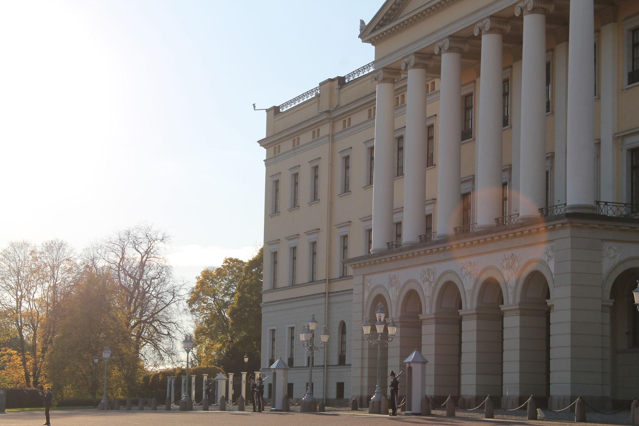 Das Schloss in Oslo