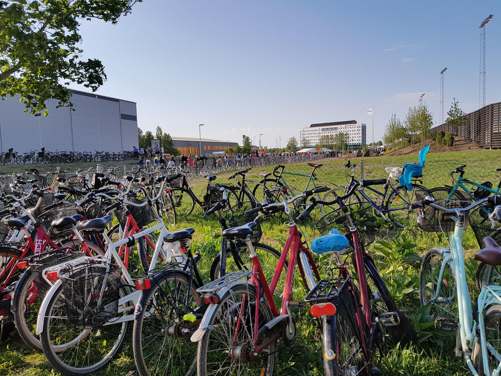 Uppsala ist Fahrradstadt