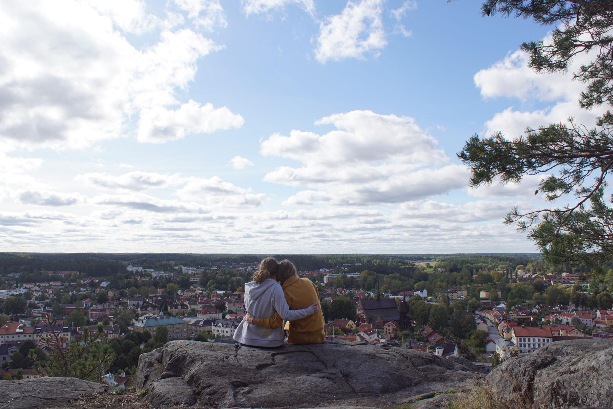 Aussicht über Söderköping