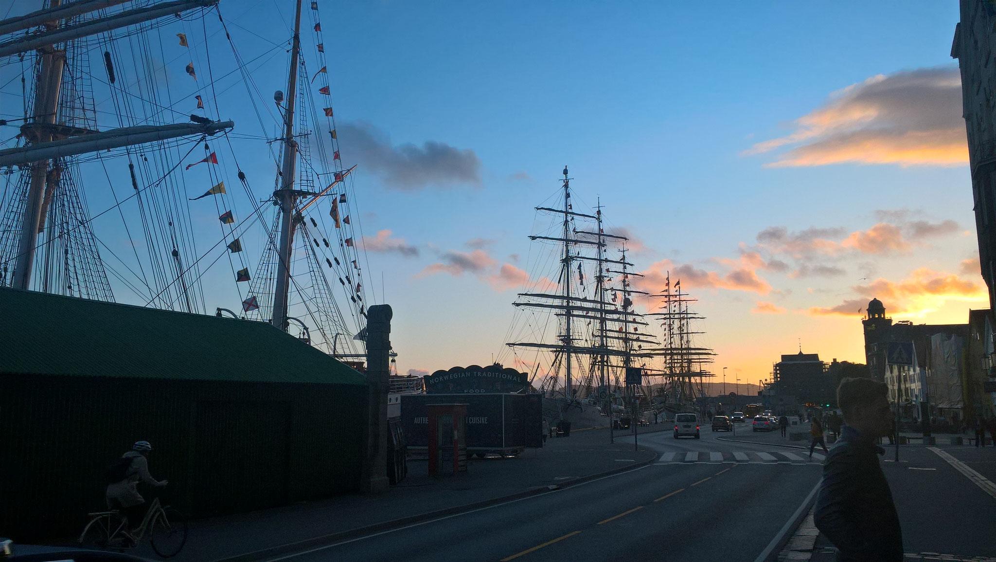 Der deutsche Hafen in Bergen