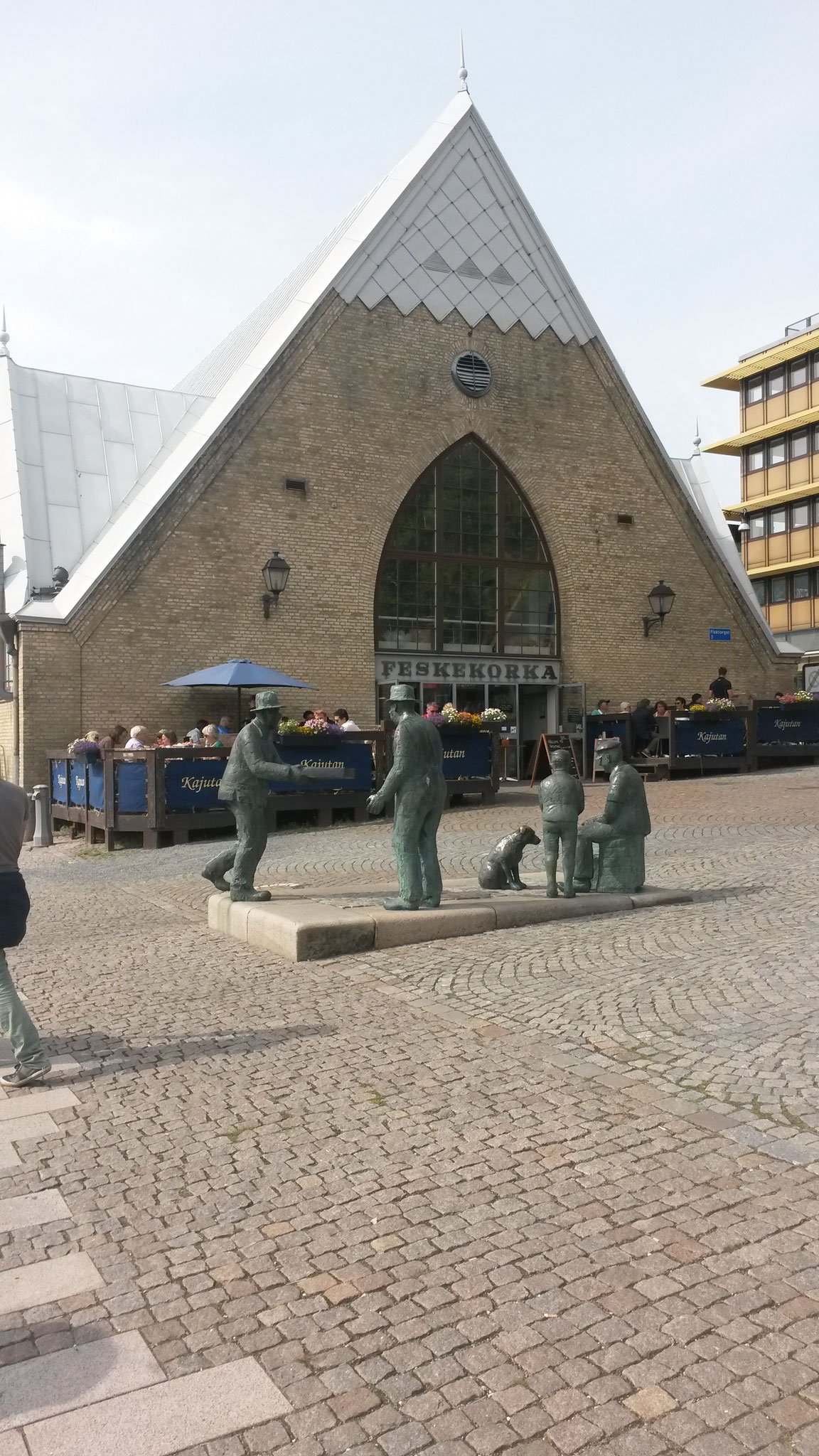 """Die """"Fischkirche"""" in Göteborg"""