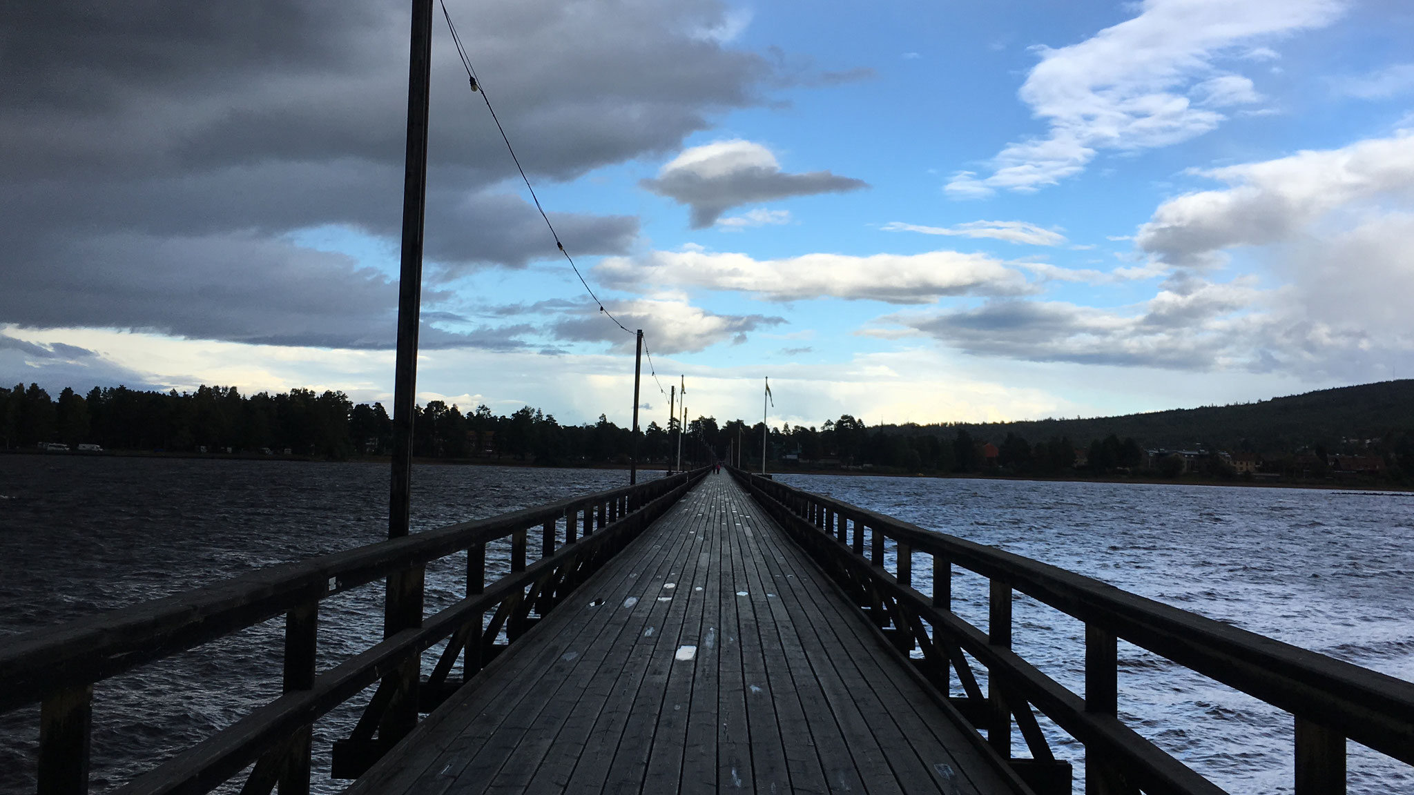Steg in Rättvik (Foto: Inga)