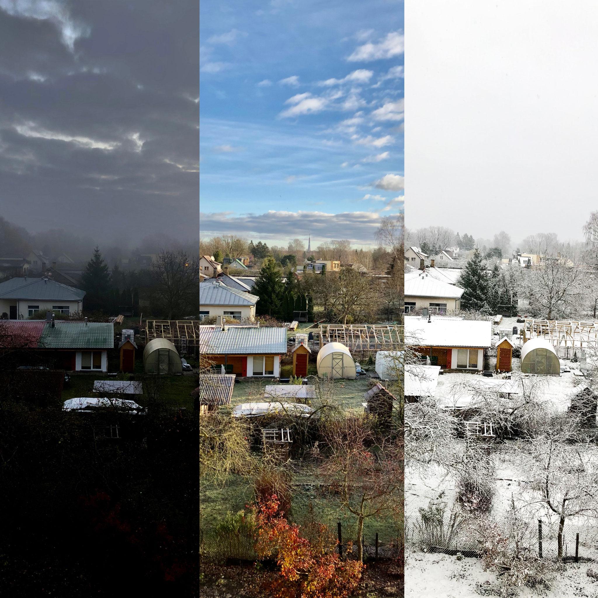 Herbst, Sommer und Winter von Evas Zimmer