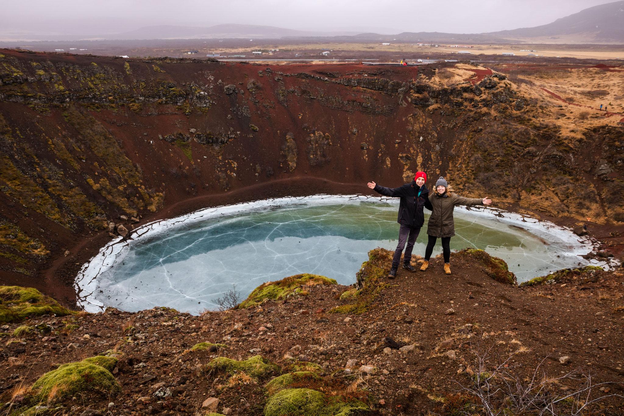 Lioba und ich auf dem Keirið (Foto: Feline)