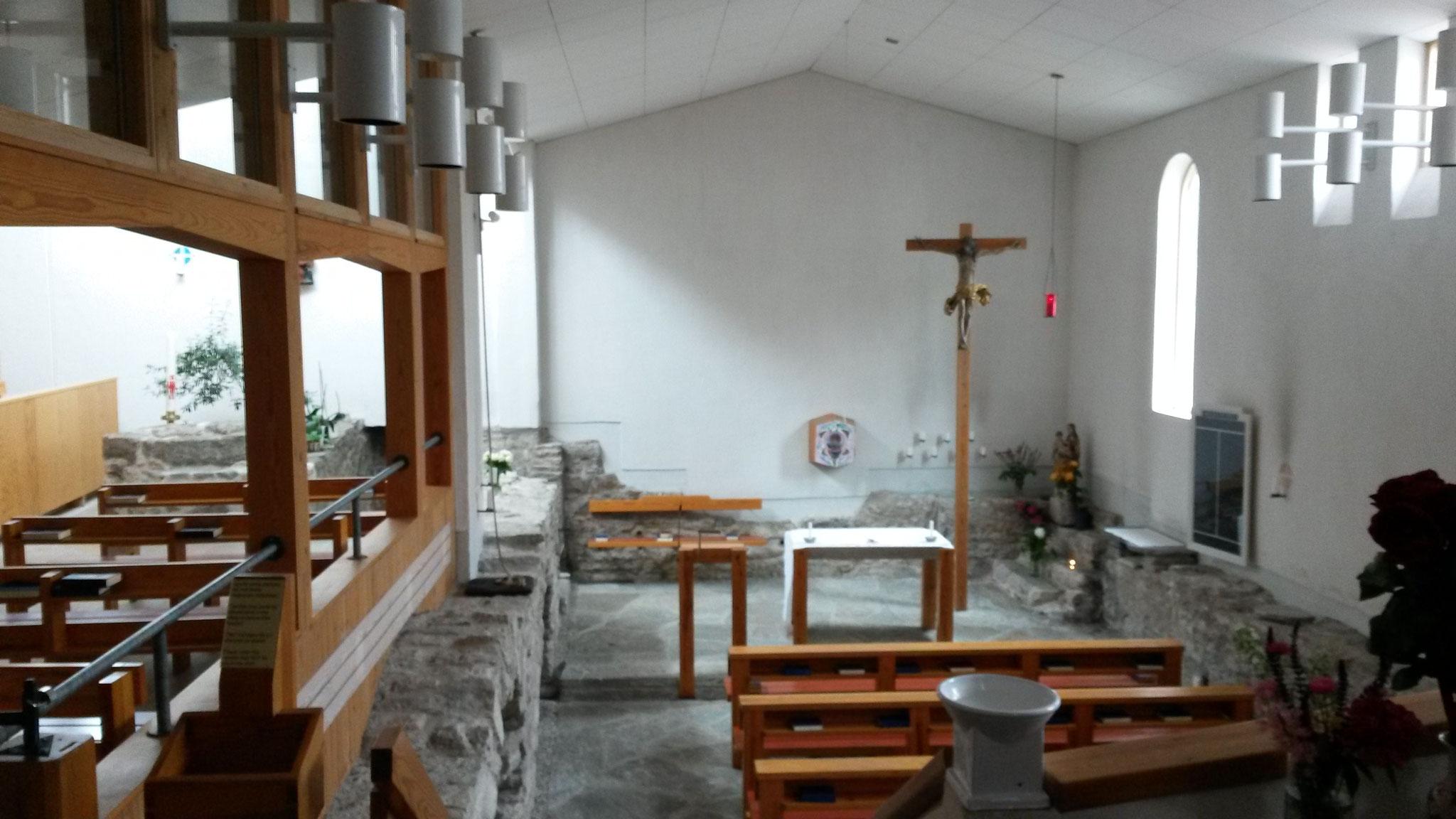 Die katholische Kirche in Visby auf der Insel Gotland