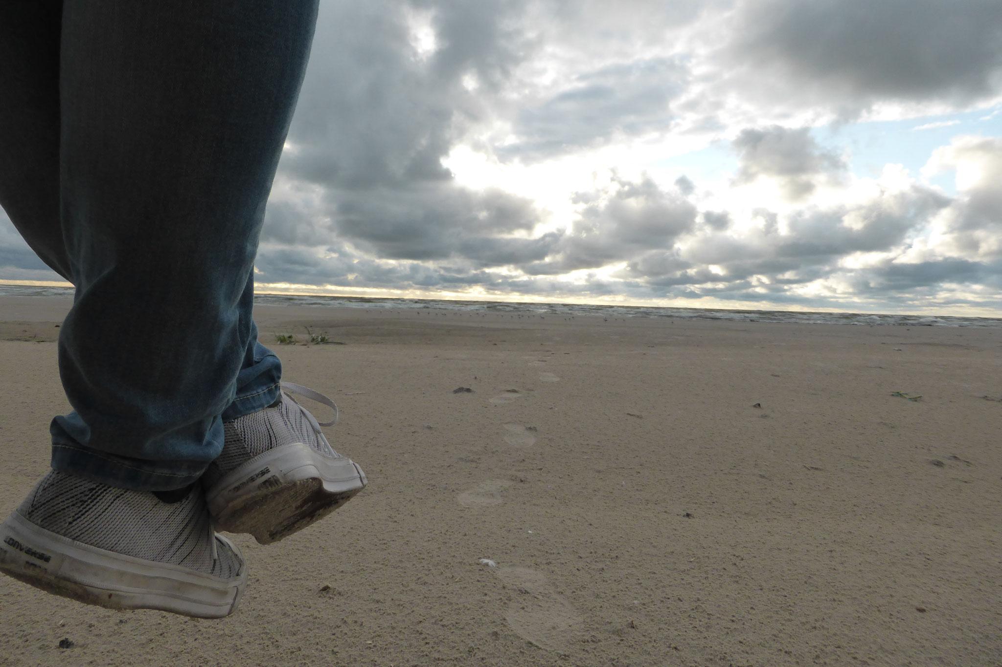 Entspannen am Strand von Liepaja