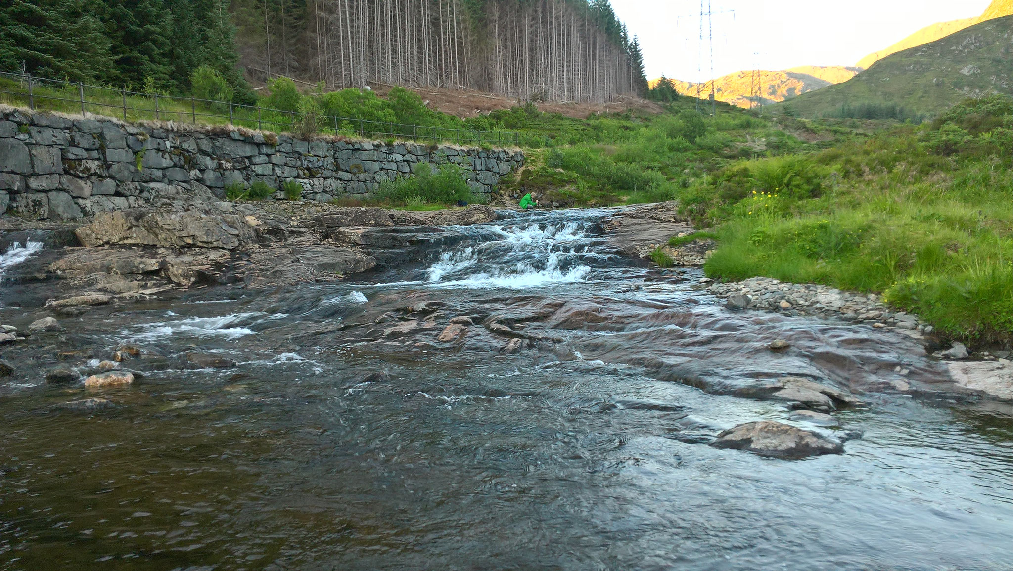 Norwegische Natur in der Nähe von Bergen
