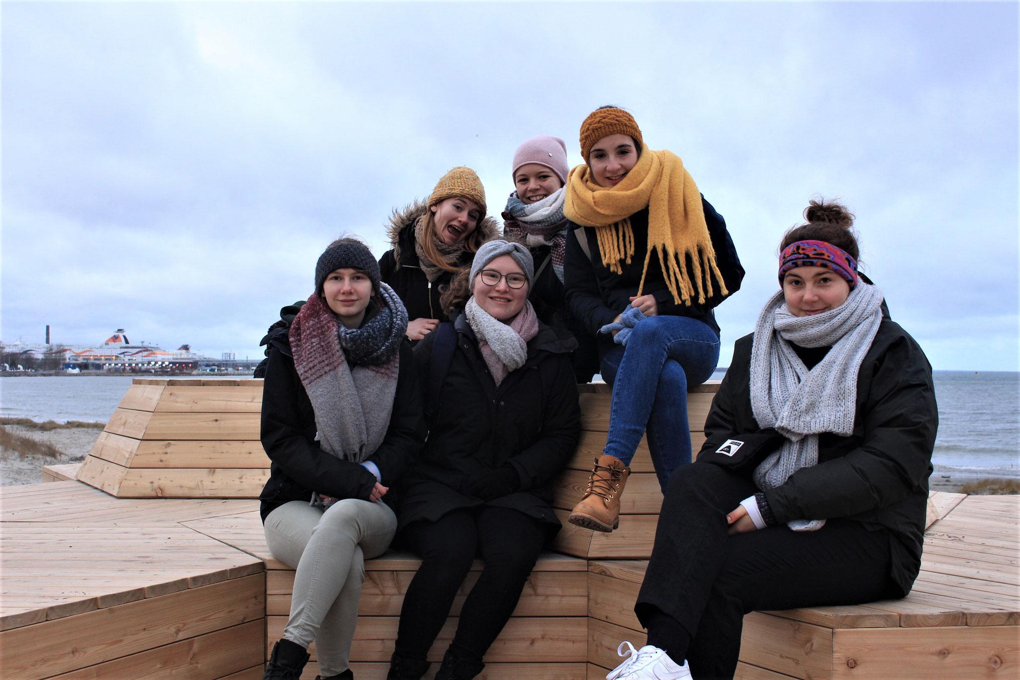 Praktikantinnen in Tallinn