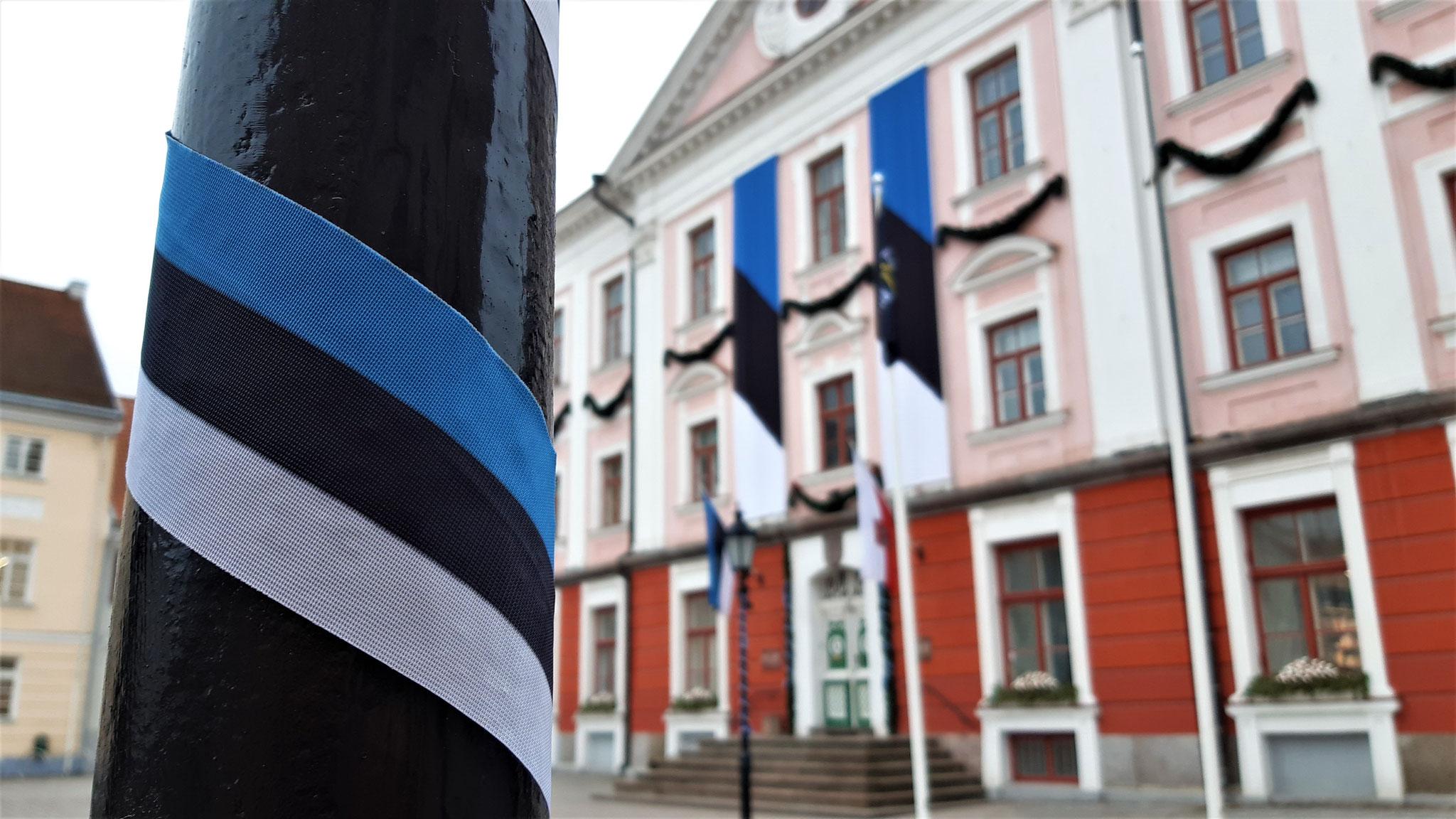 Unser schönes Tartuer Rathaus