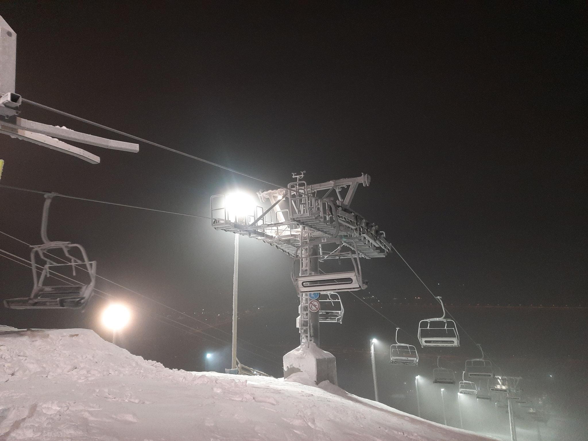 Skilift in Kiruna