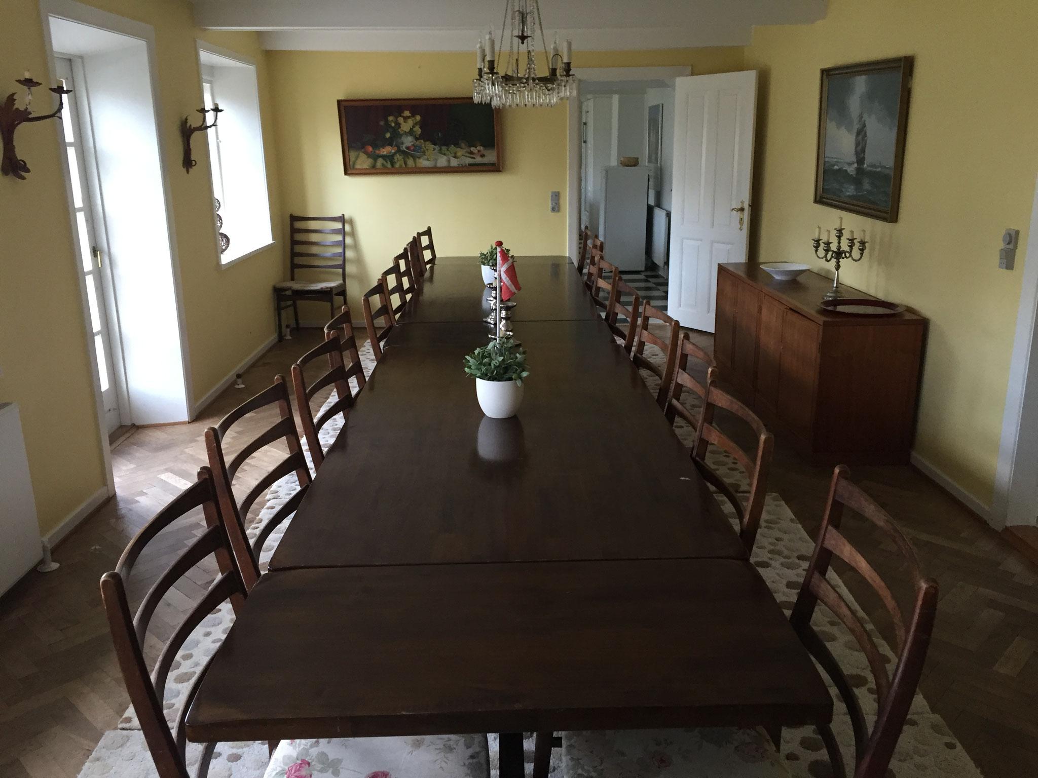 Ferienhaus auf Langeland, wo das Treffen des Vorstands des DUKs stattfand