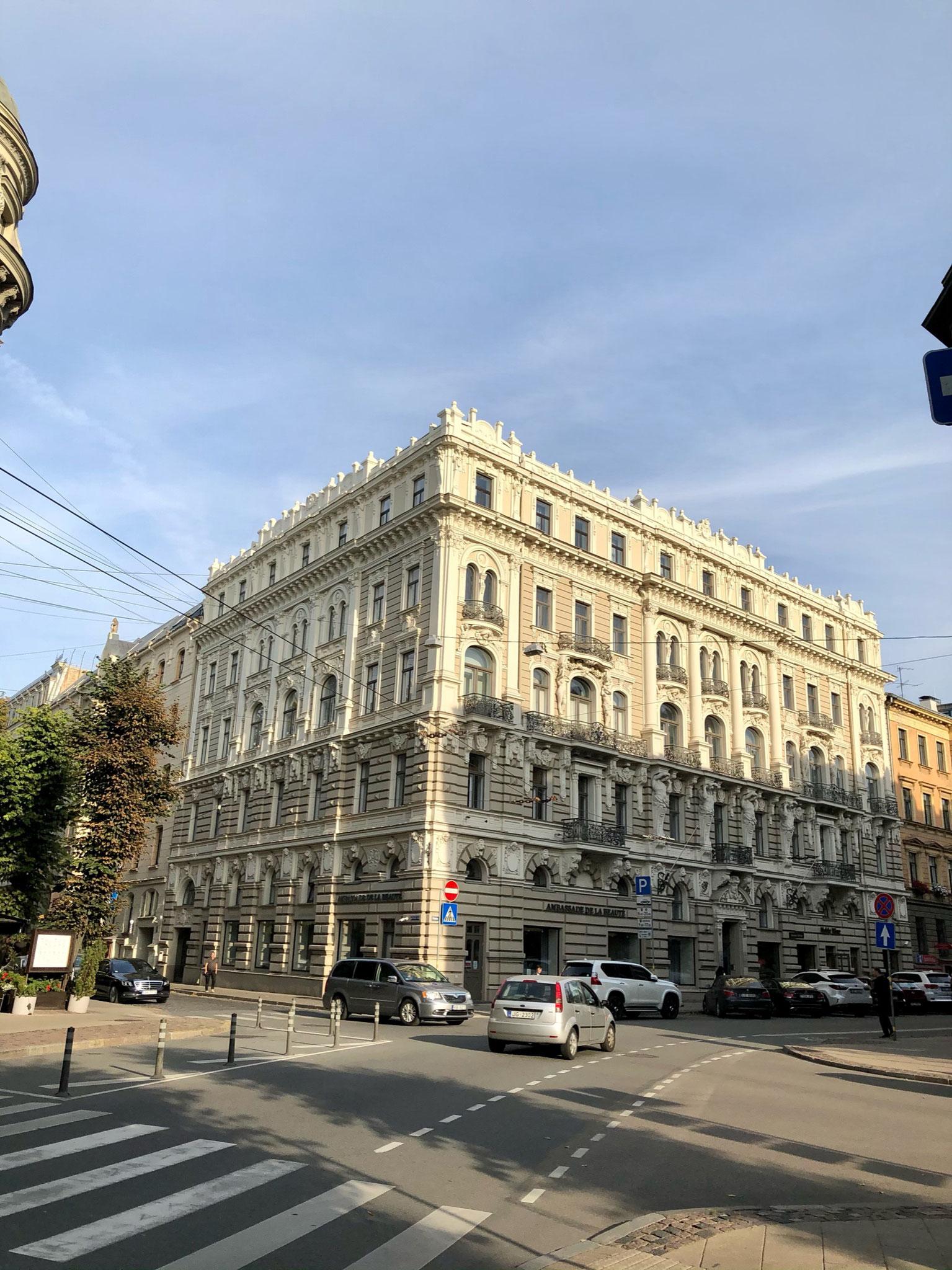 Jugendstilviertel von Riga
