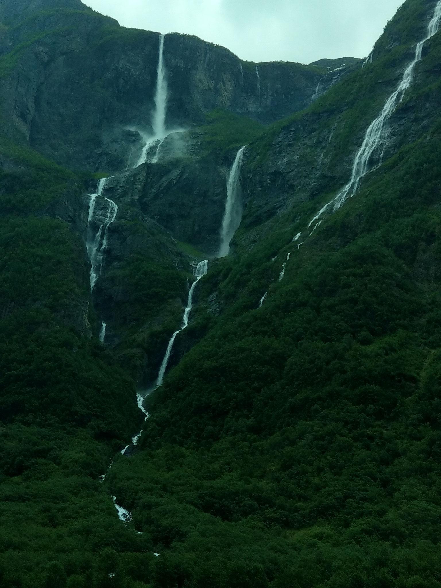 Die Landschaft in Norwegen ist einfach umwerfend