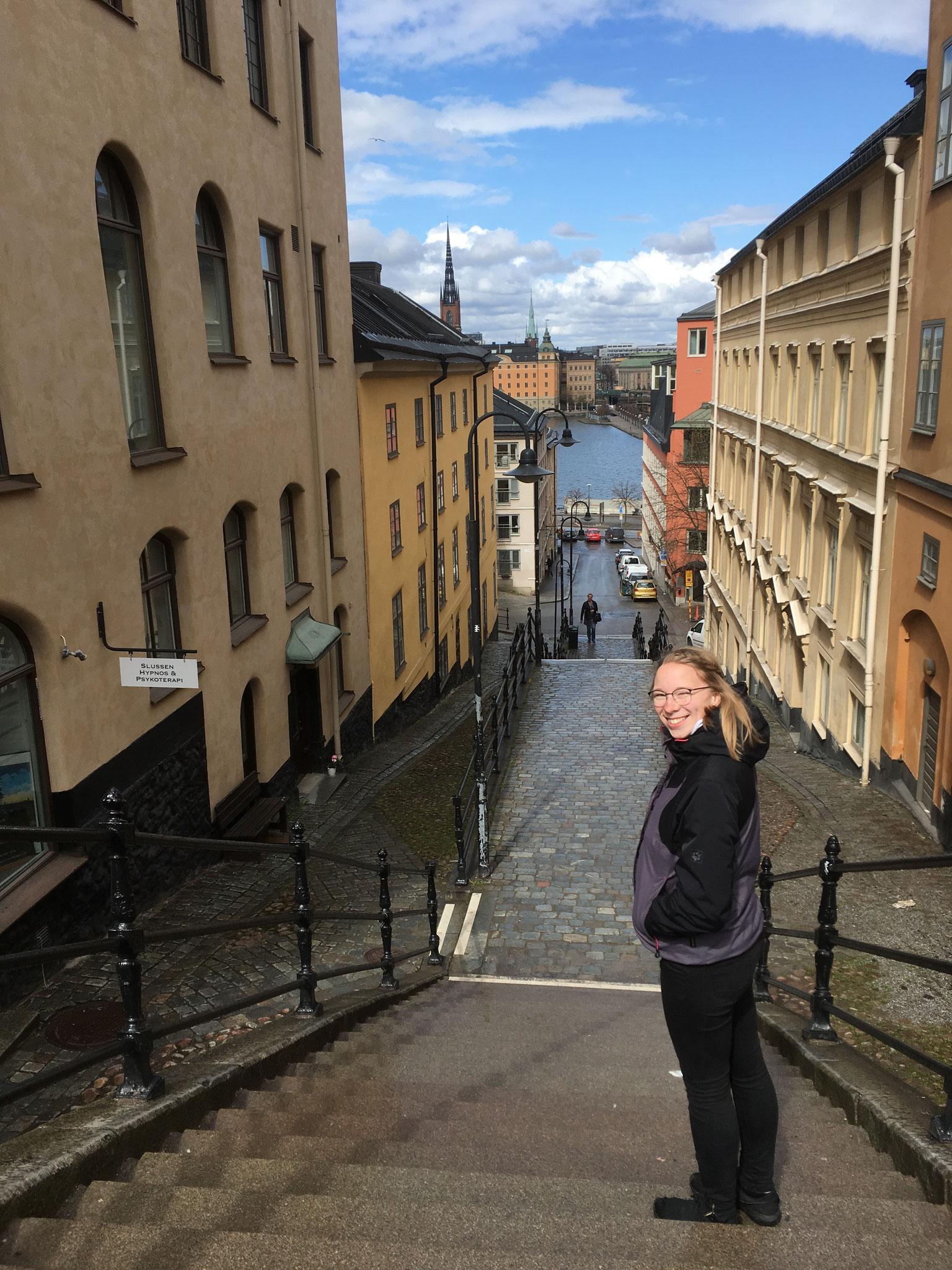 Josephine zu Besuch in Stockholm