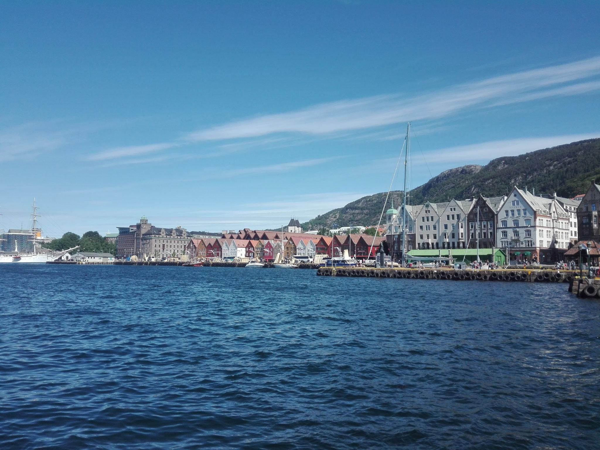 Auch in Bergen in Norwegen war Corona zu Besuch