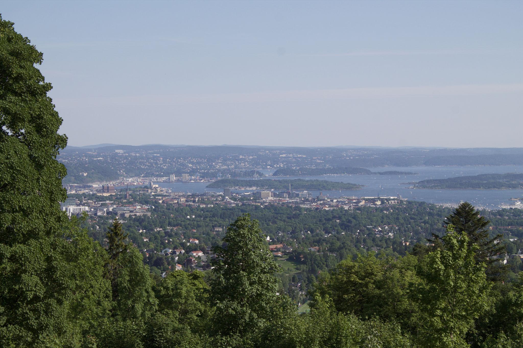 Aussicht auf Oslo
