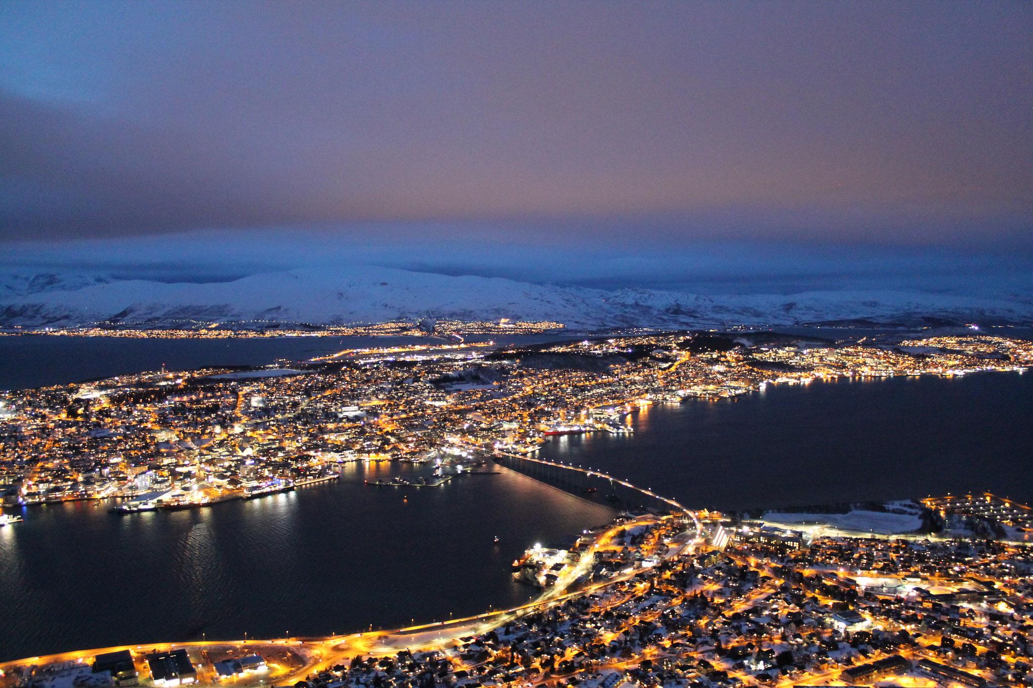 Tromsø bei Nacht