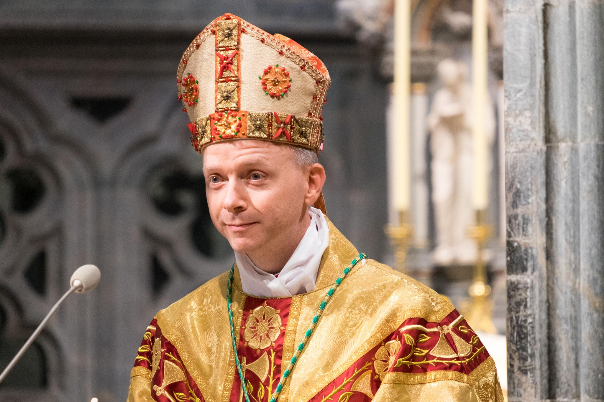 In seiner Dankerede bedankte sich Bischof Erik unter anderem auch bei dem Bonifatiuswerk für die Unterstützung der vergangenen Jahre