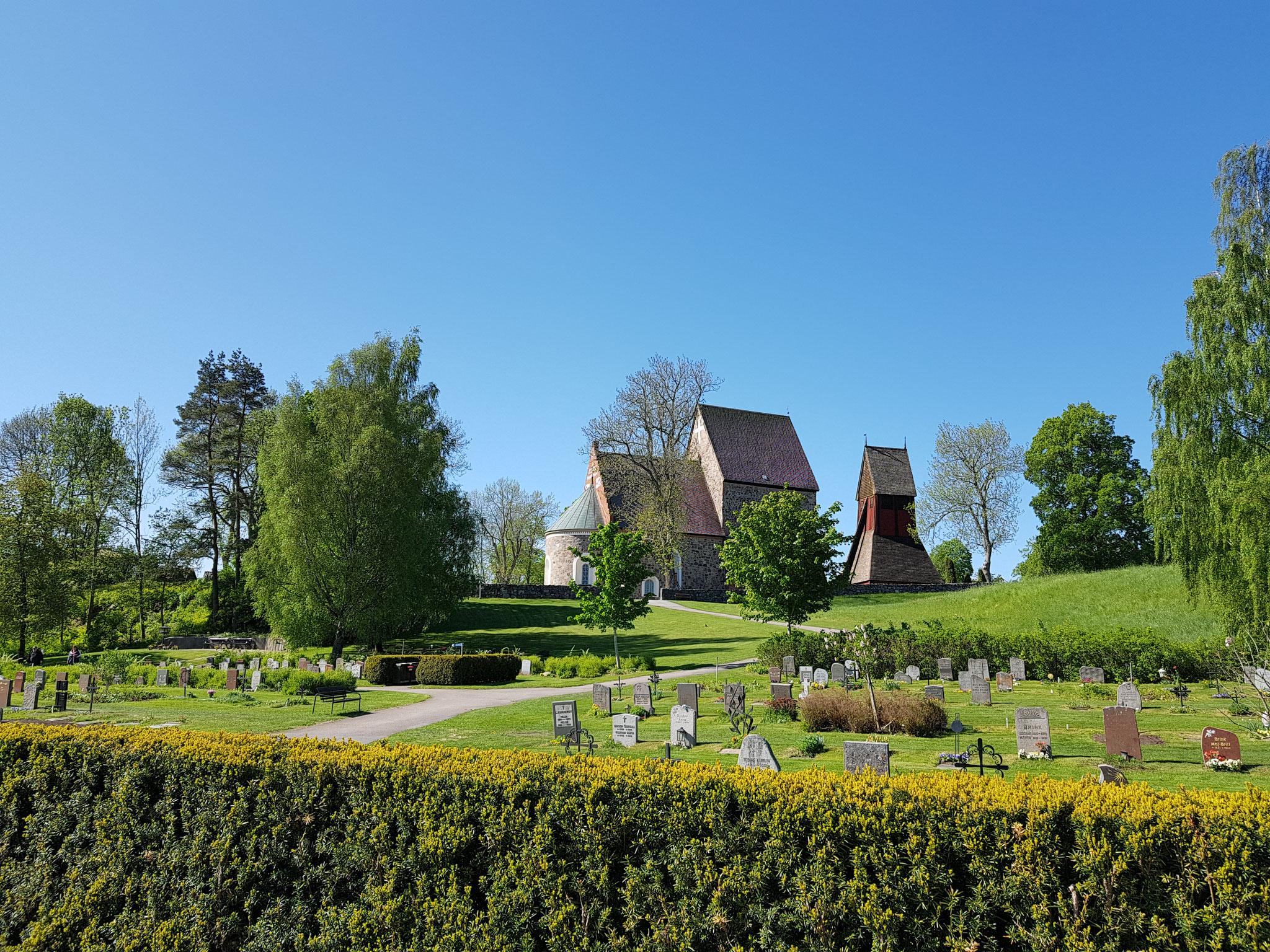 Die Kirche in Gamla Uppsala