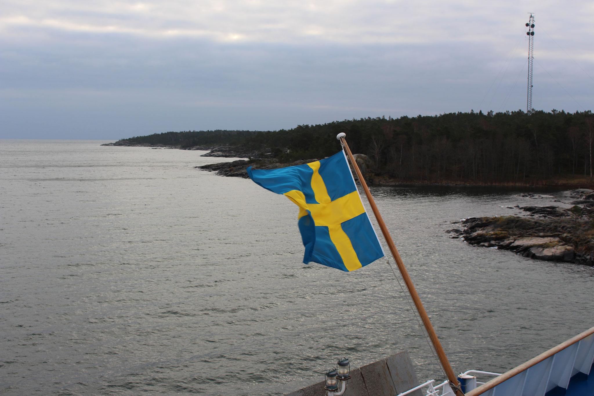 Auf der Fähre nach Åland