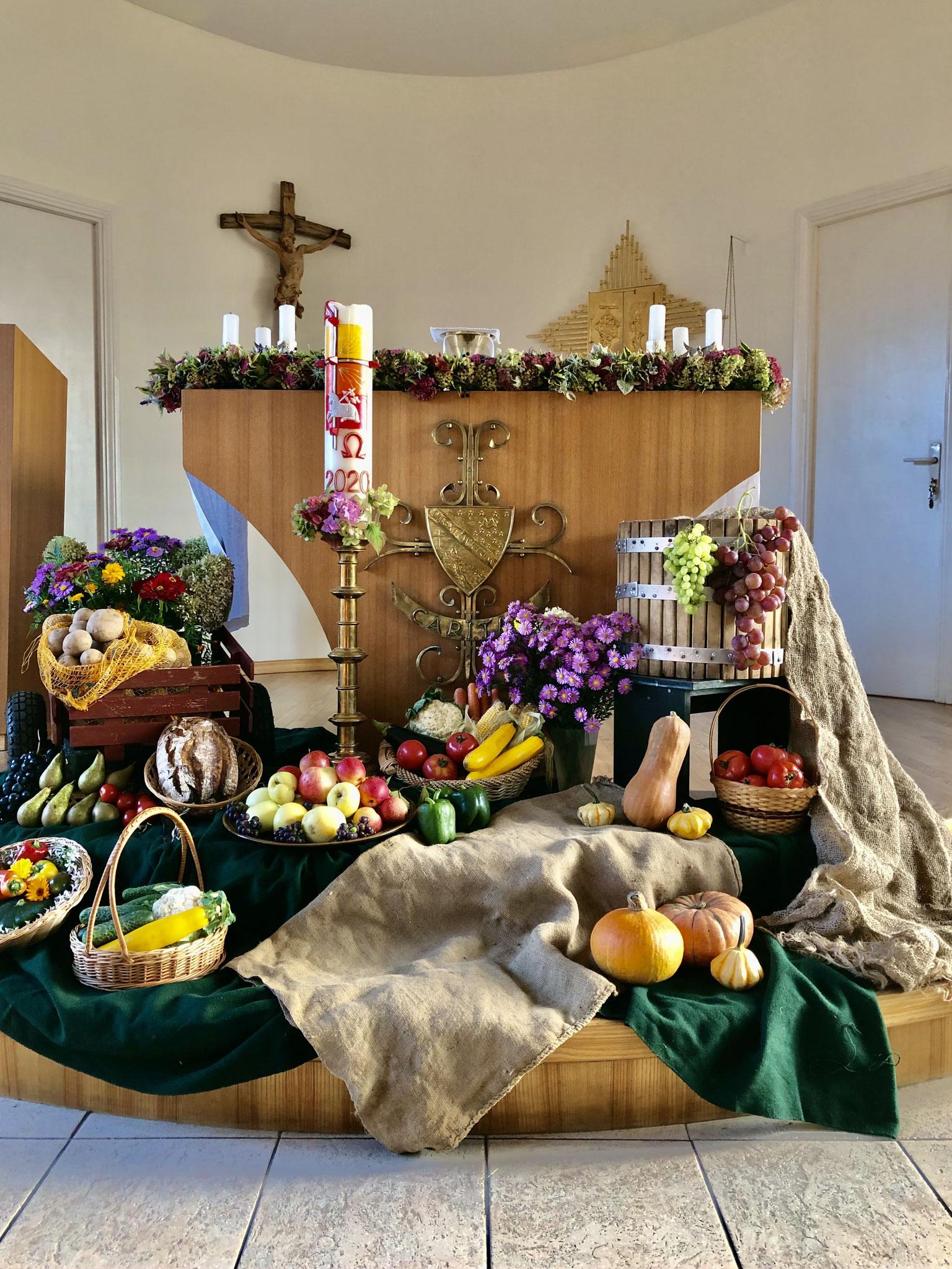 Erntedank im Kloster