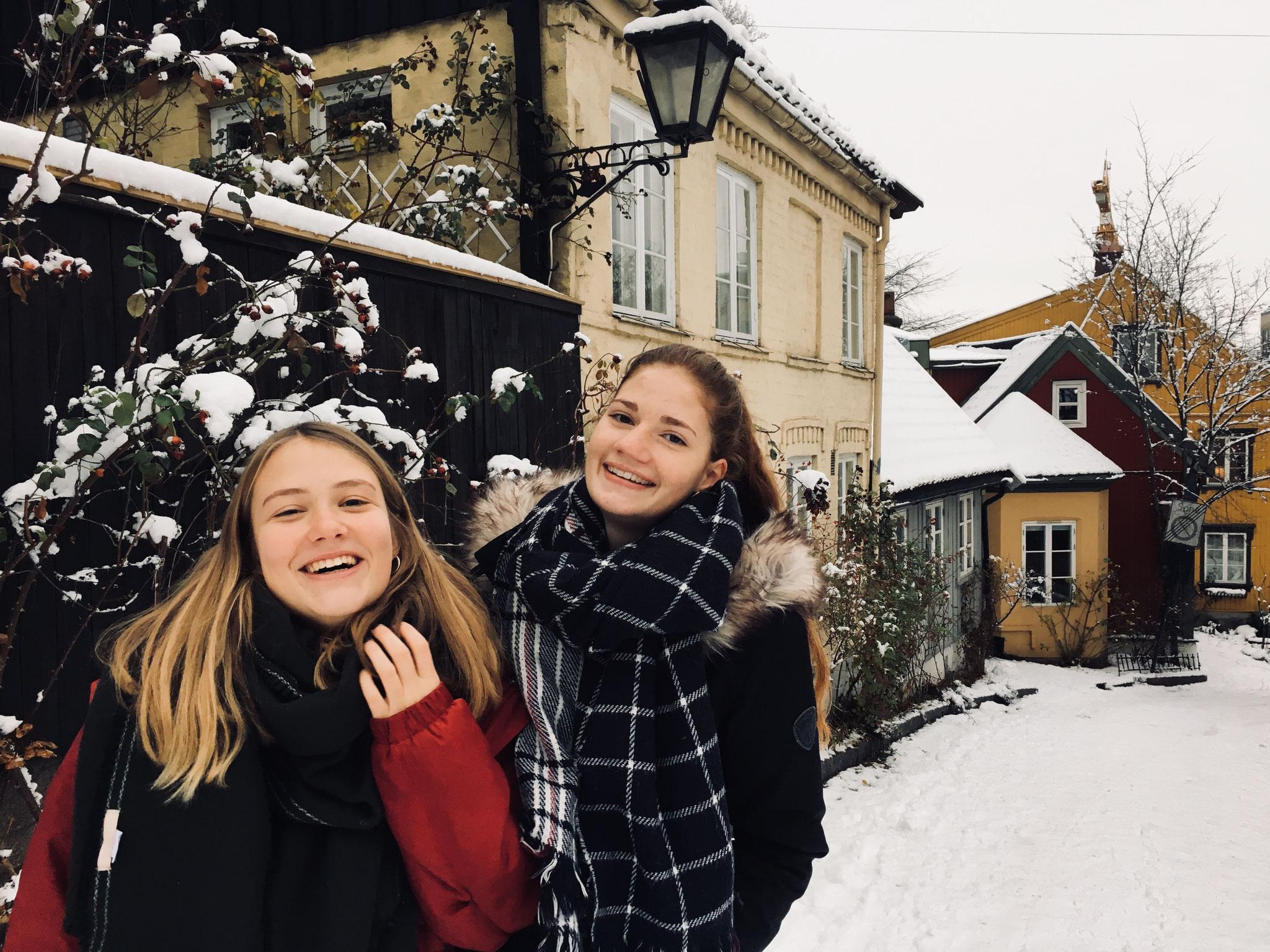 Lenja und Jule