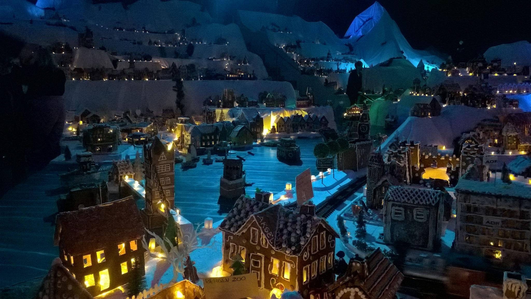Bergen als Pfefferkuchenstadt ist ein Highlight in der Adventszeit