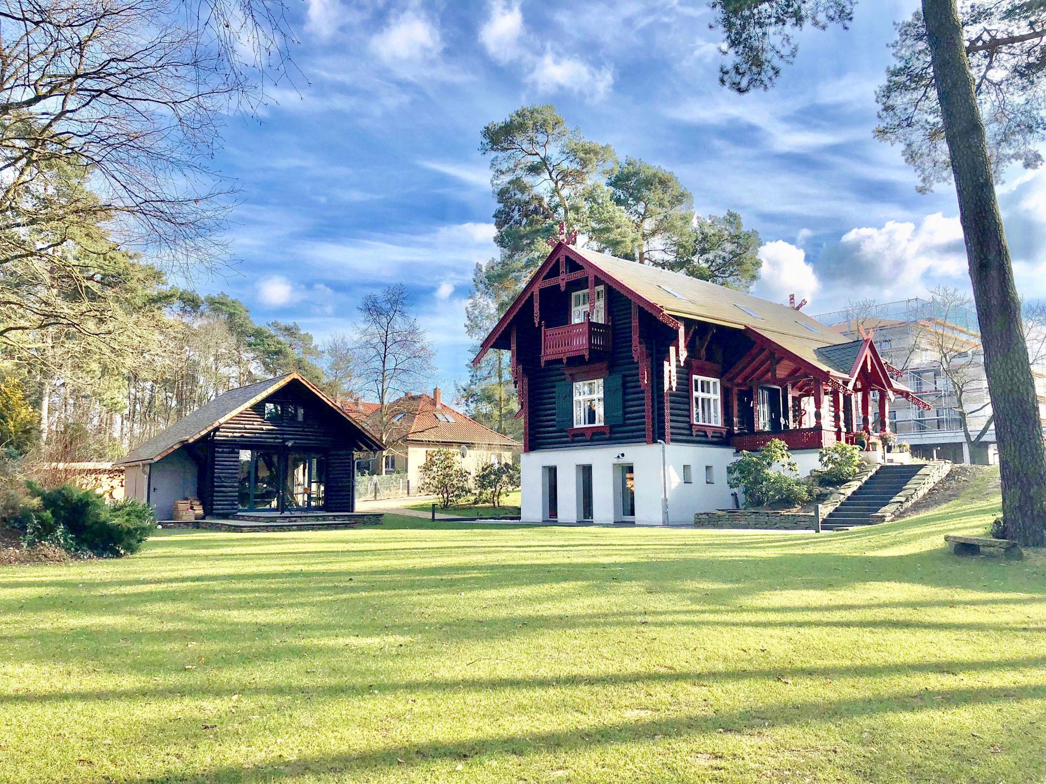 Märchenhaftes Maxim-Gorki-Haus in zentraler Lage von Bad Saarow
