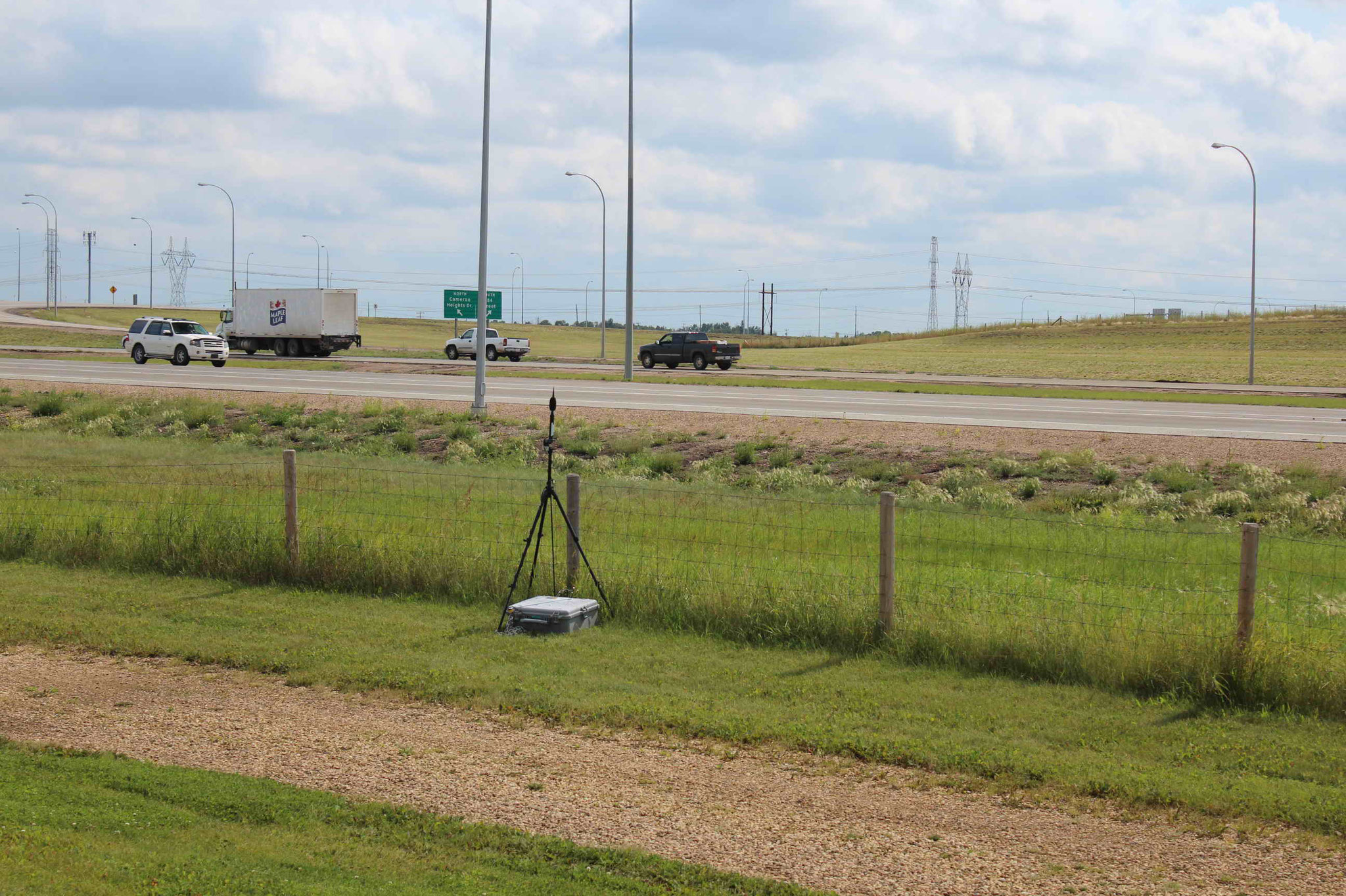 Noise Monitor Adjacent to Anthony Henday Drive