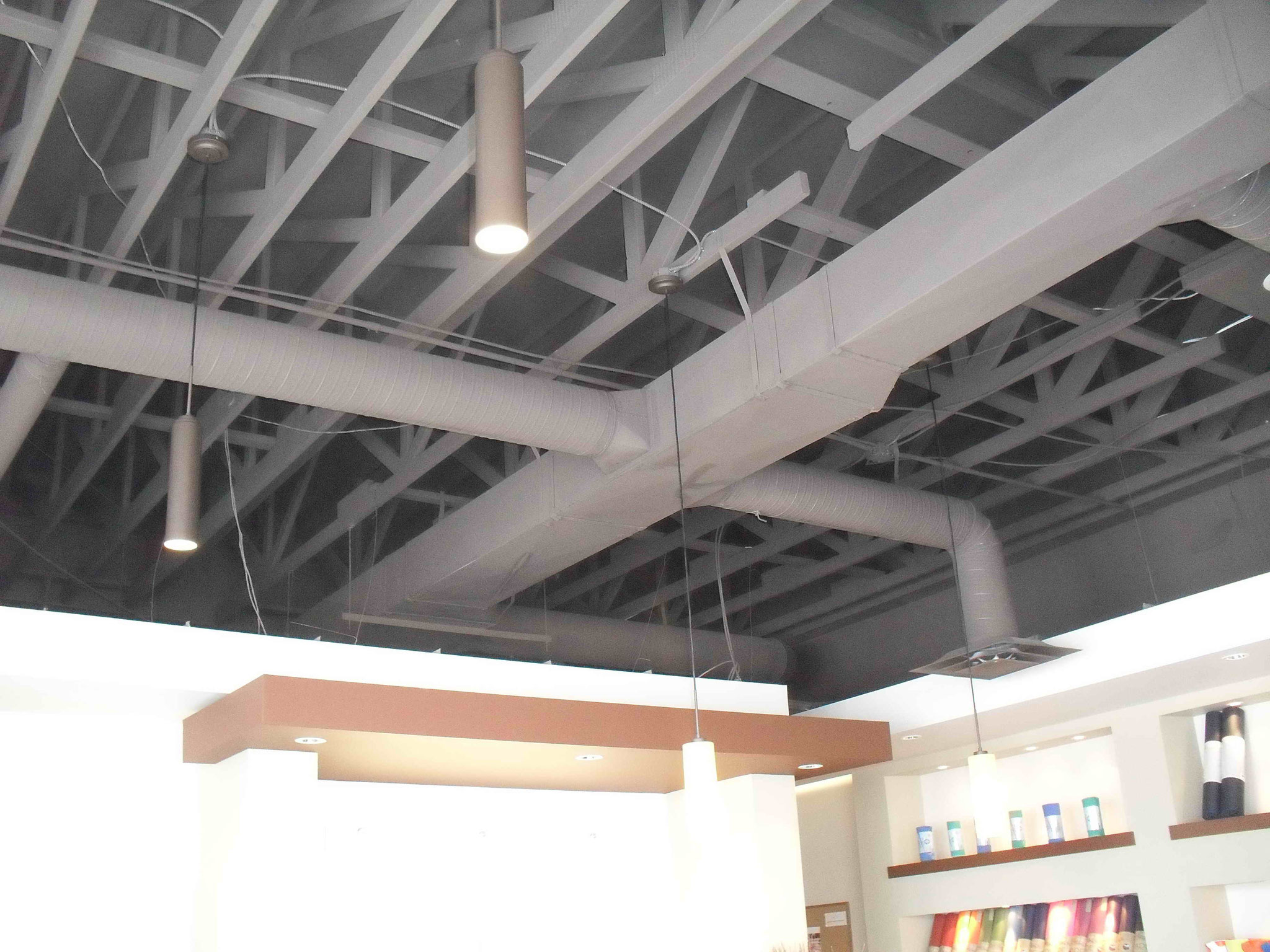 Ceiling Space in Need of Sound Absorbing Treatment